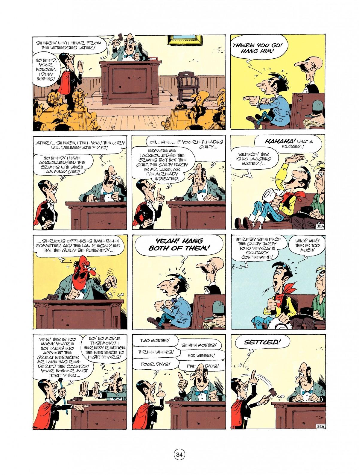 Read online A Lucky Luke Adventure comic -  Issue #37 - 34