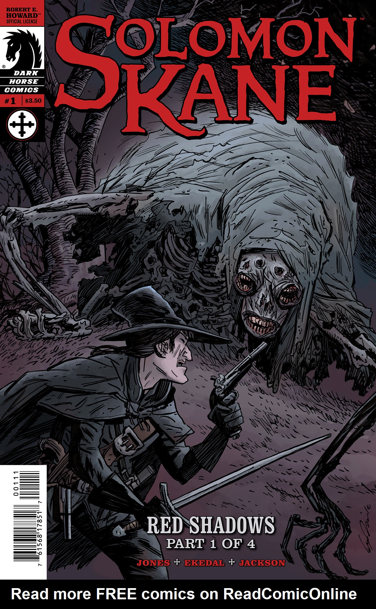 Read online Solomon Kane: Red Shadows comic -  Issue #1 - 1