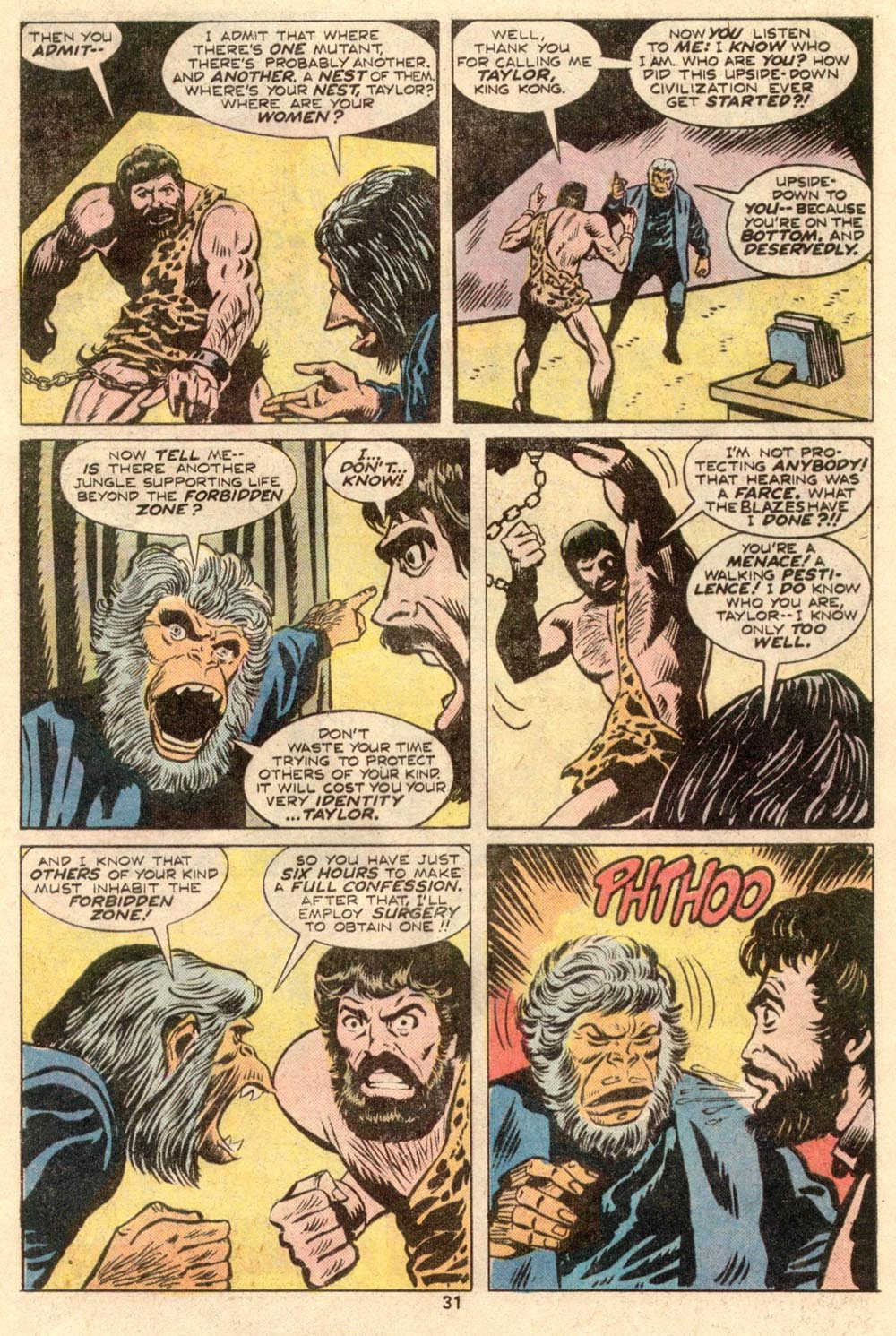Read online Adventures on the Planet of the Apes comic -  Issue #4 - 21