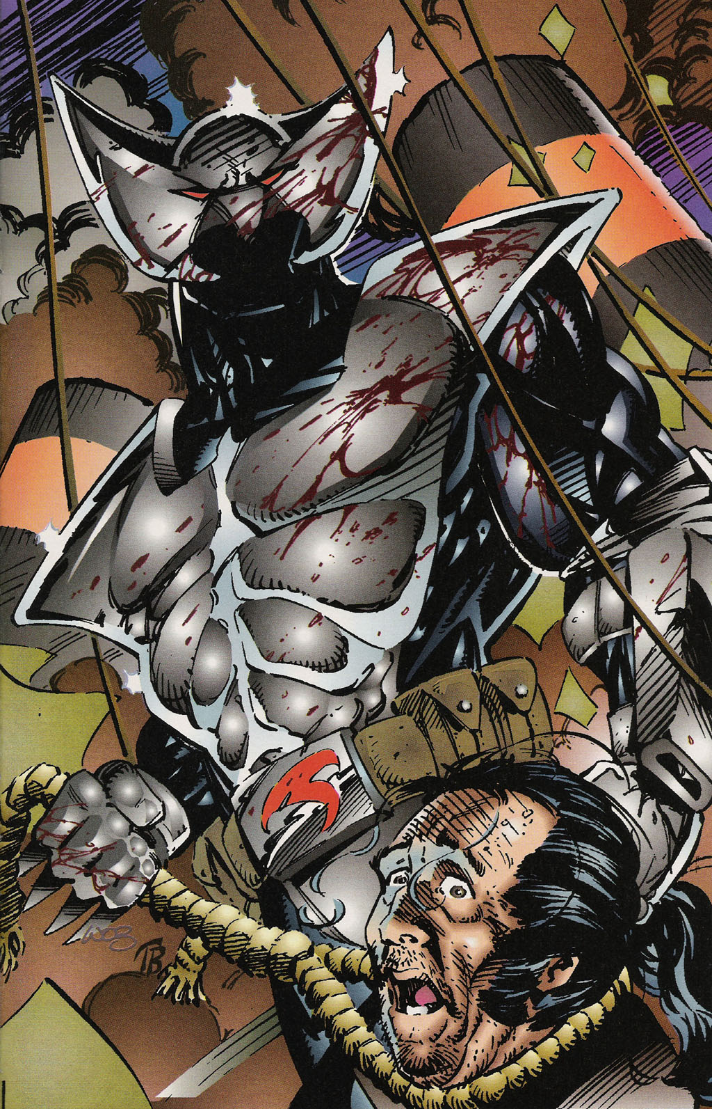 Read online ShadowHawk Gallery comic -  Issue # Full - 20