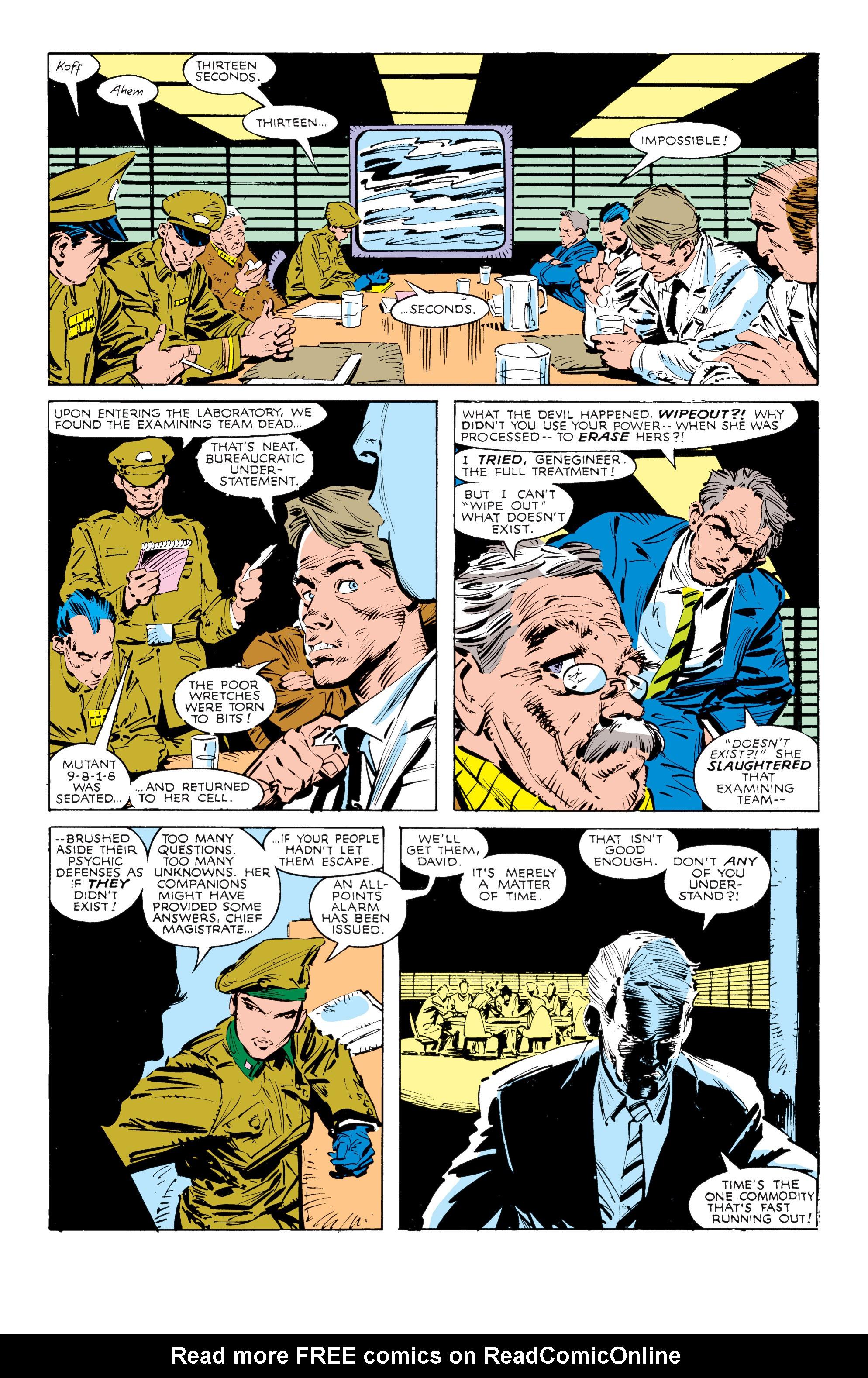 Read online Uncanny X-Men (1963) comic -  Issue #238 - 6