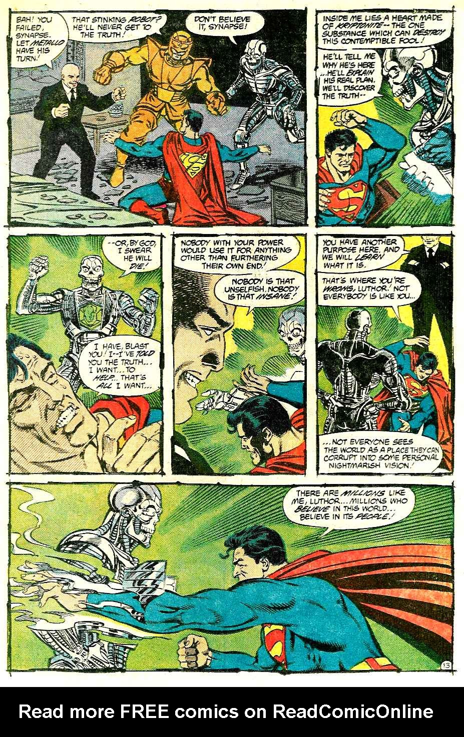 Read online Adventures of Superman (1987) comic -  Issue #427 - 13