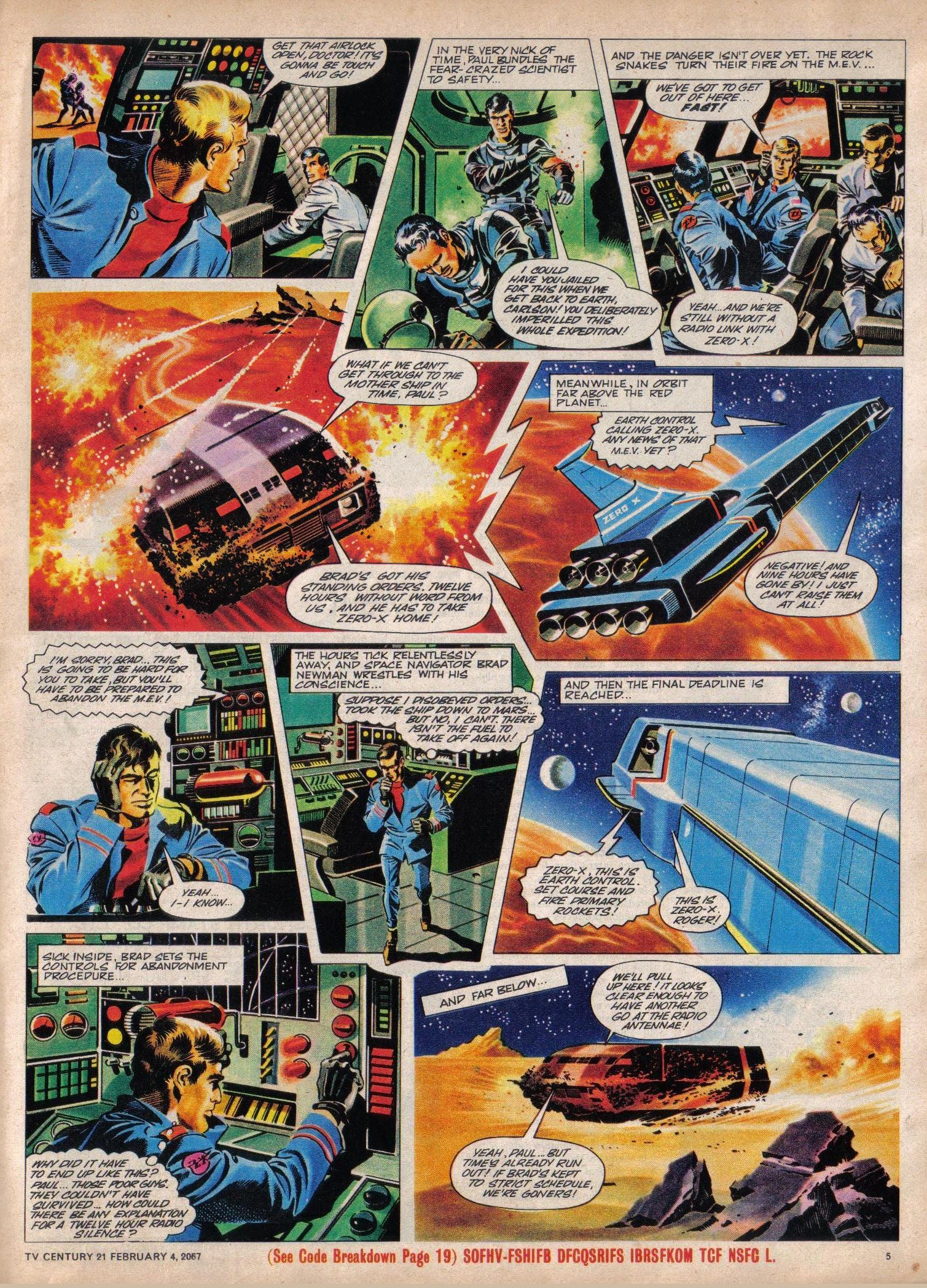 Read online TV Century 21 (TV 21) comic -  Issue #107 - 5