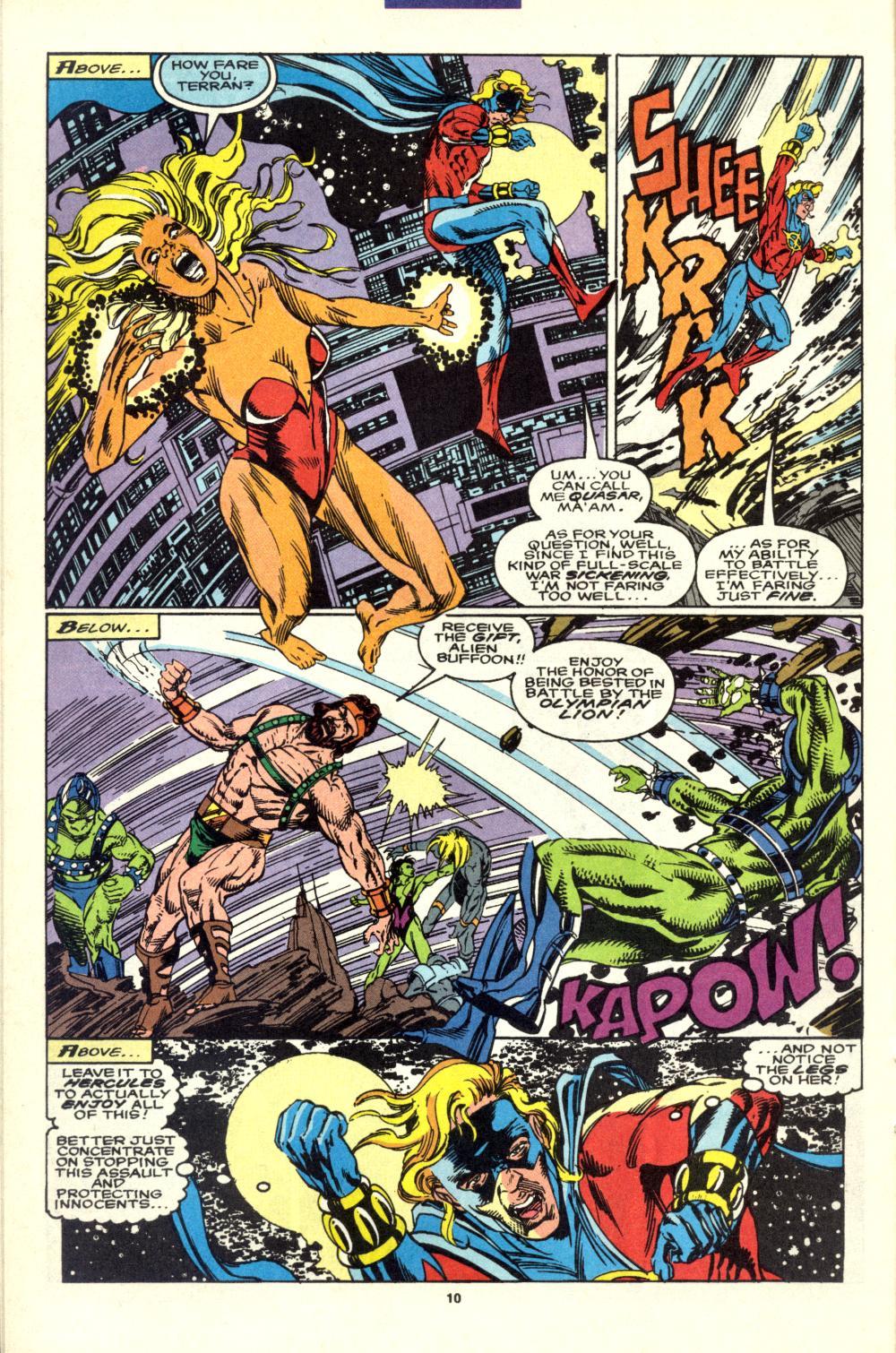 Read online Alpha Flight (1983) comic -  Issue #99 - 9