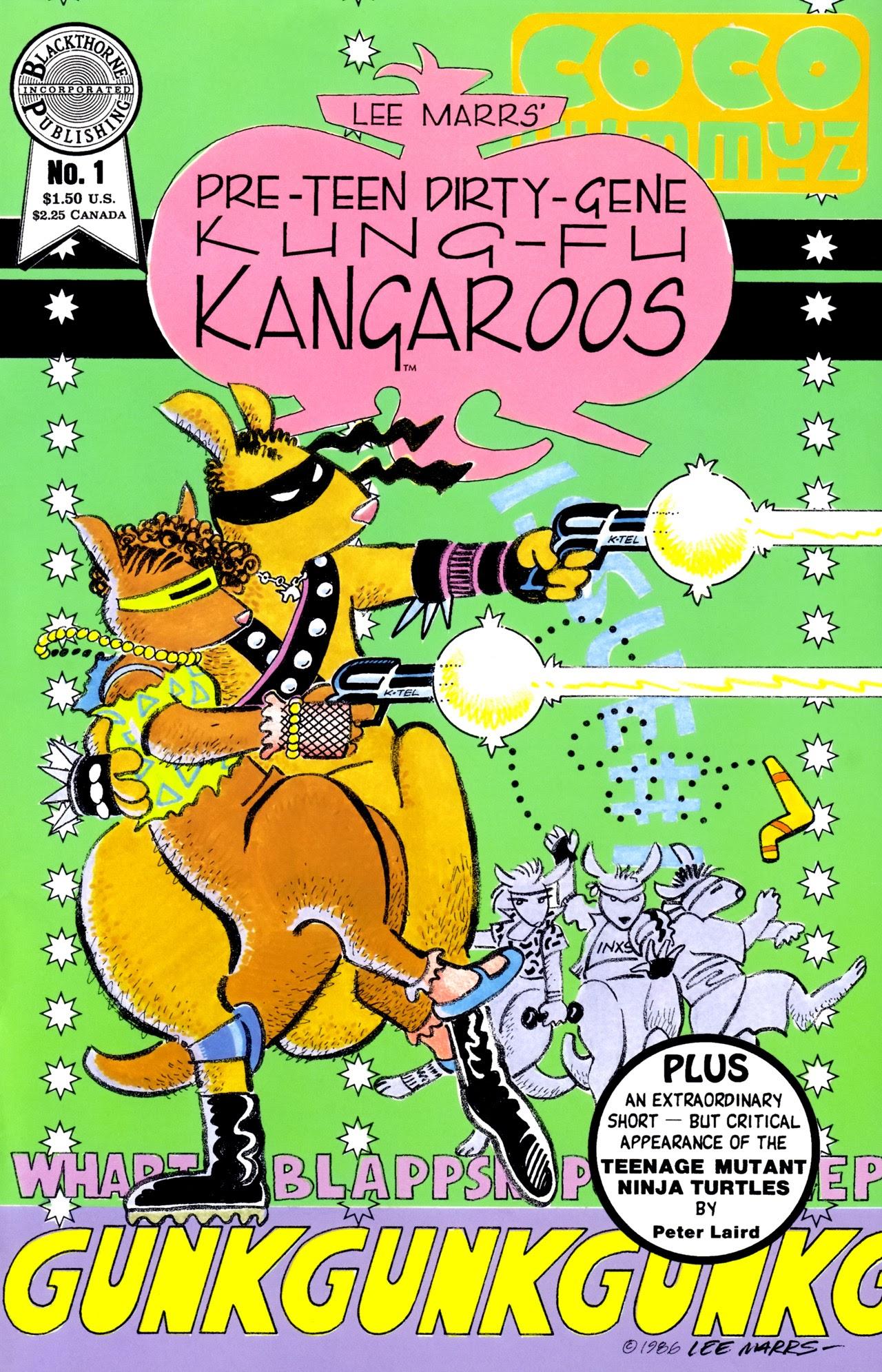 Pre-Teen Dirty-Gene Kung-Fu Kangaroos 1 Page 1