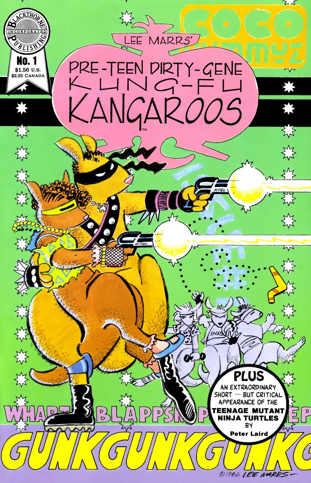 Pre-Teen Dirty-Gene Kung-Fu Kangaroos issue 1 - Page 1
