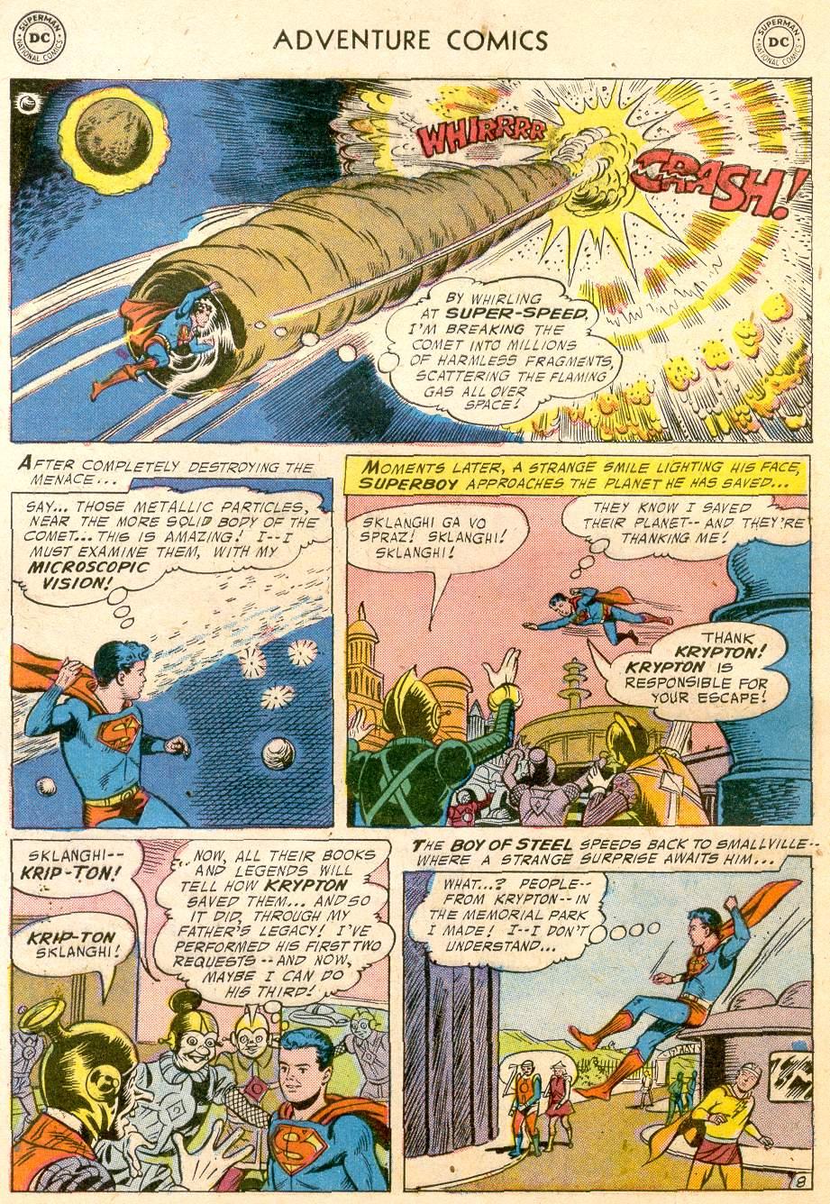 Read online Adventure Comics (1938) comic -  Issue #232 - 10