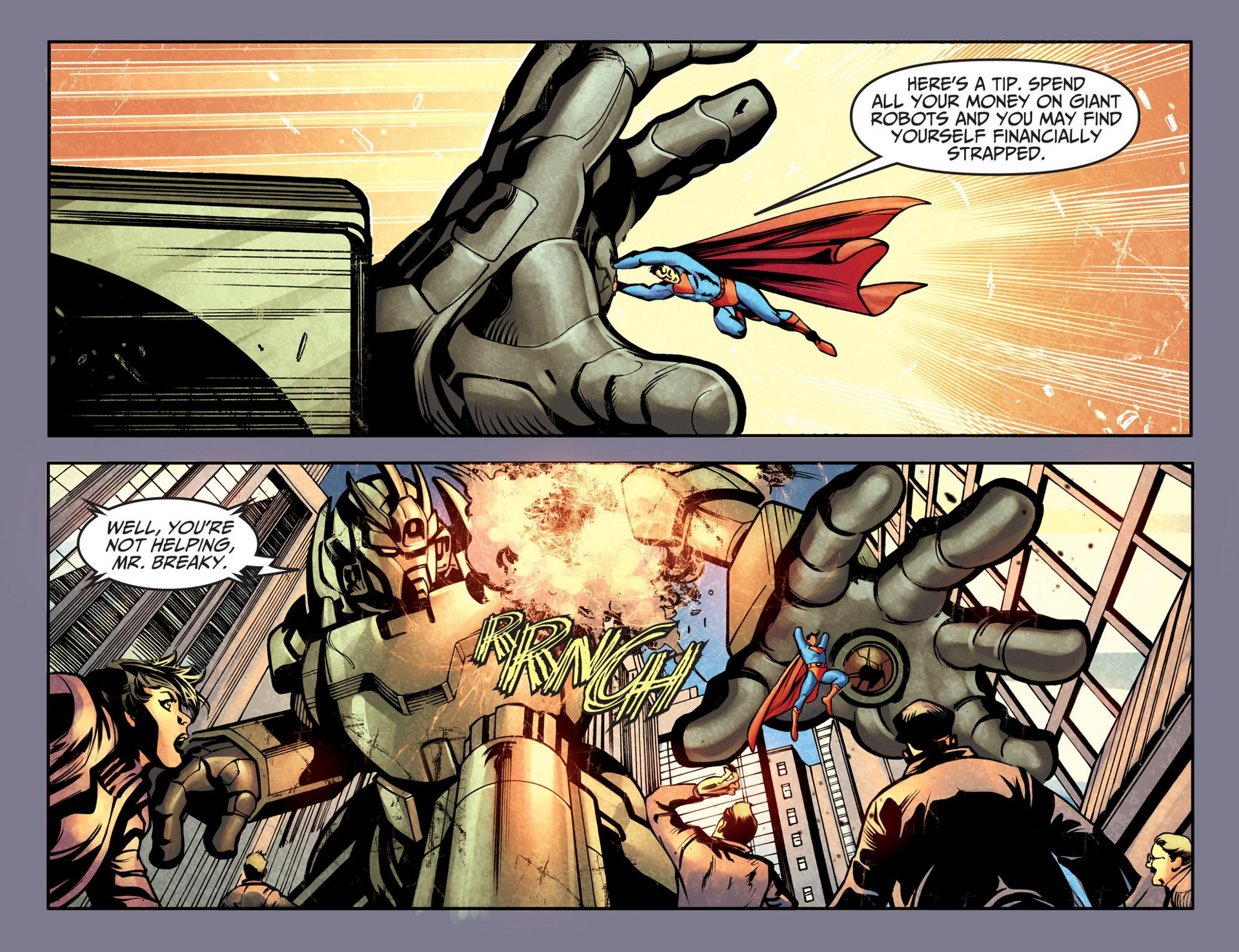 Read online Adventures of Superman [I] comic -  Issue #25 - 15