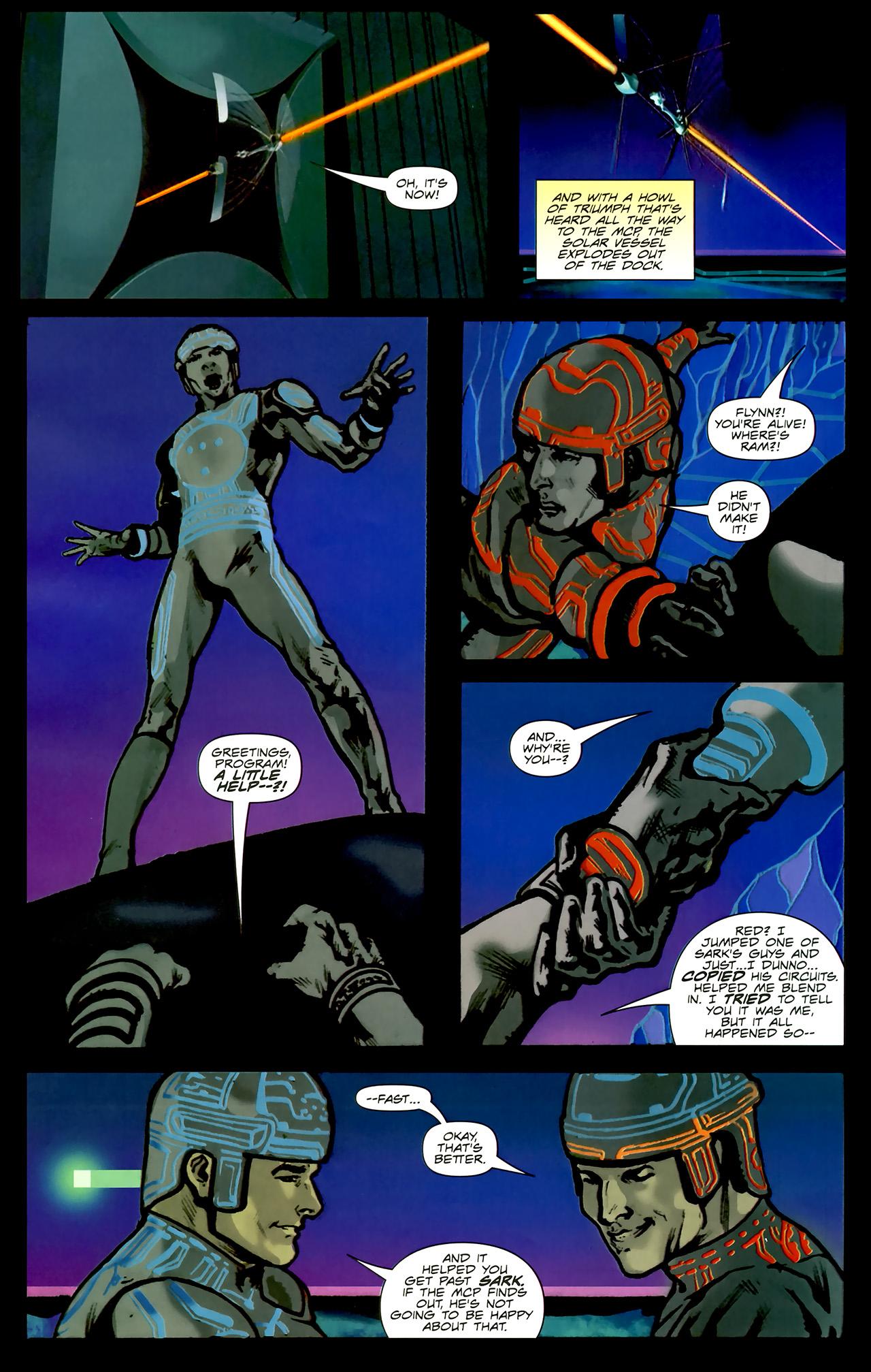 Read online TRON: Original Movie Adaptation comic -  Issue #2 - 21