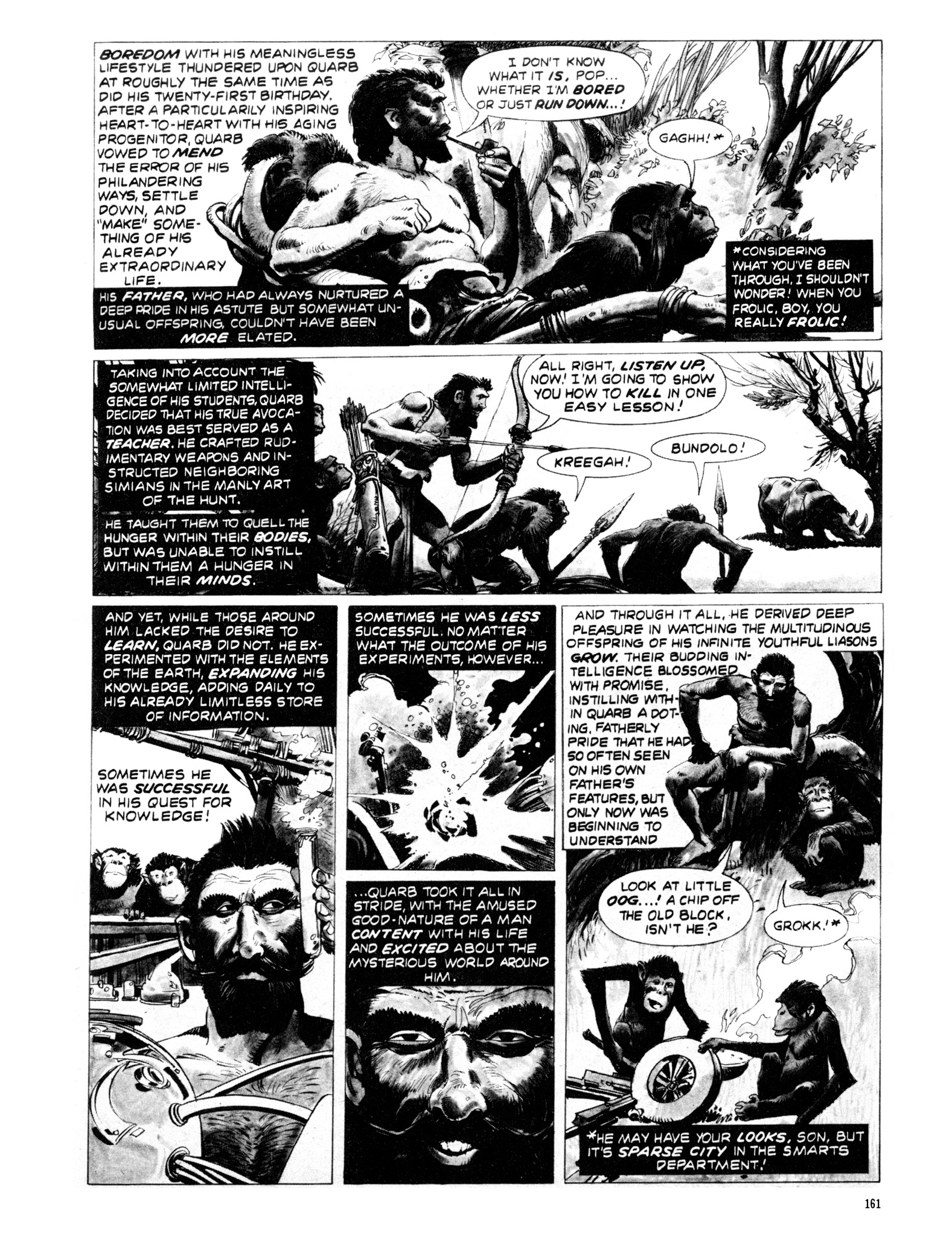 Read online Eerie Archives comic -  Issue # TPB 20 - 161