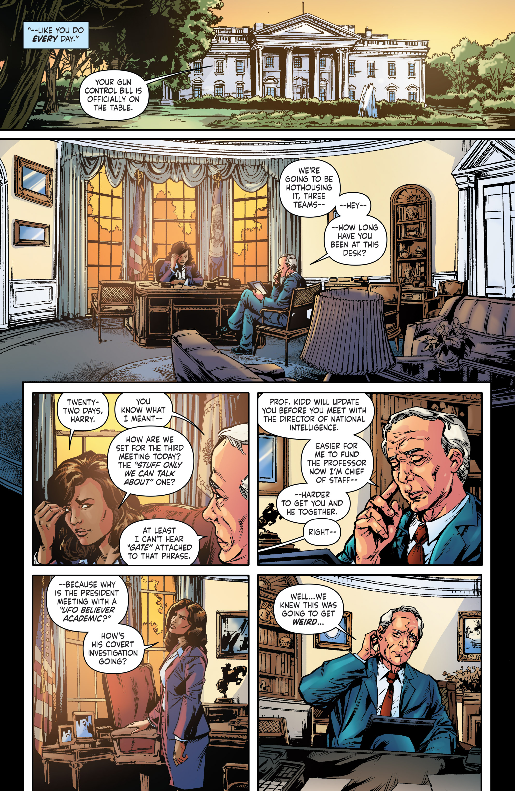 Read online Saucer State comic -  Issue #1 - 9