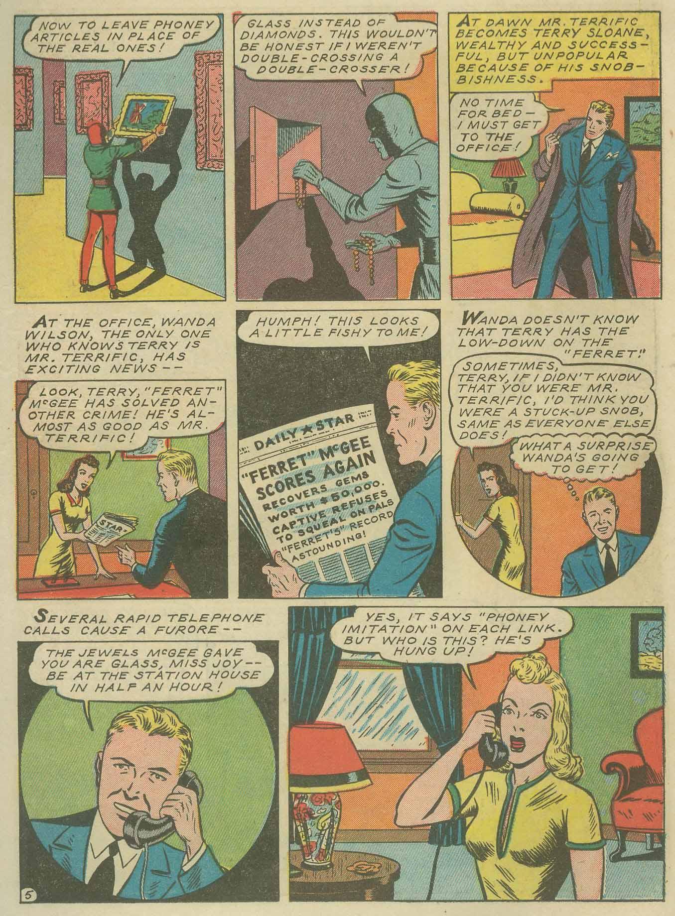 Read online Sensation (Mystery) Comics comic -  Issue #9 - 29