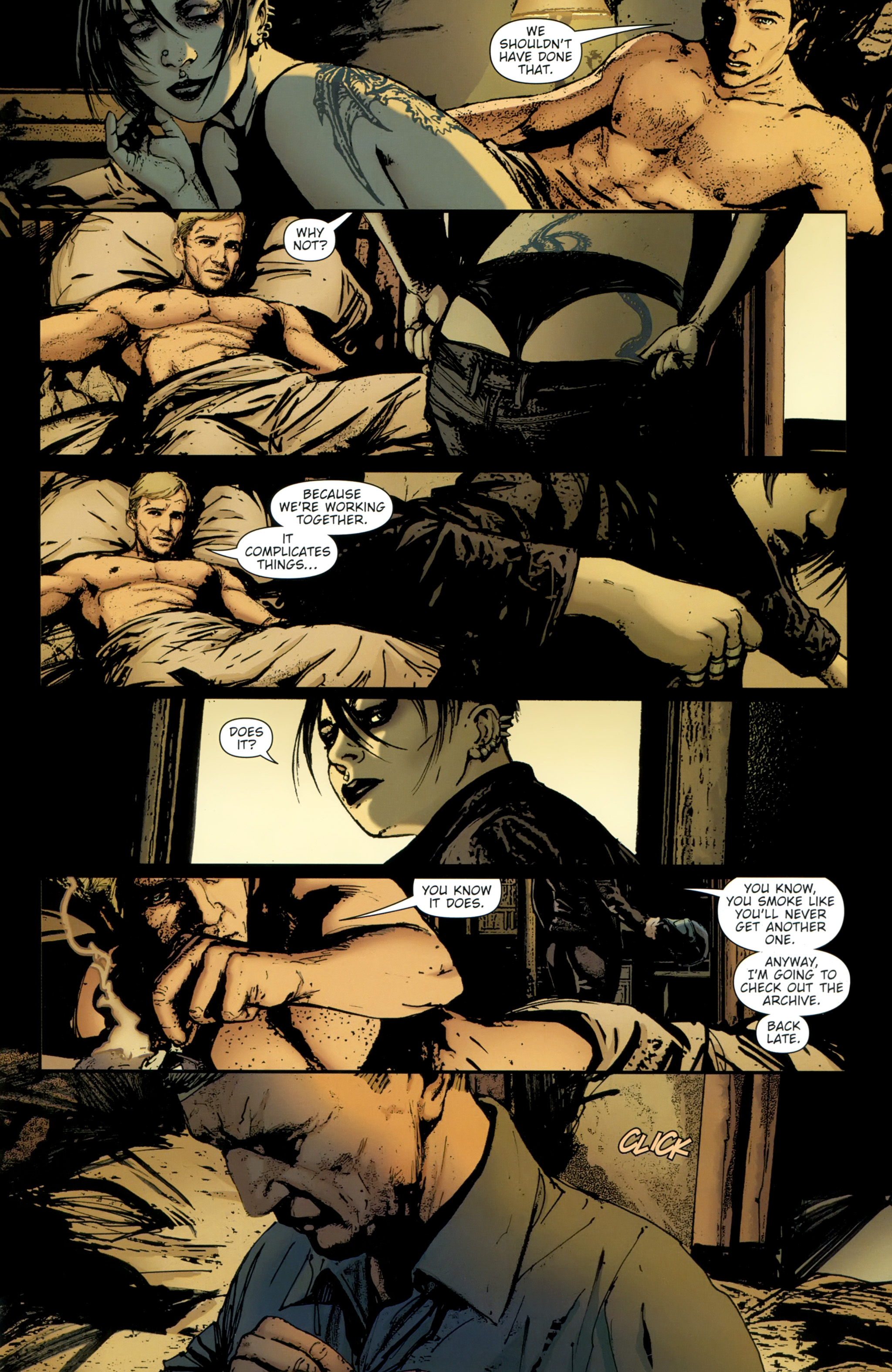Read online The Girl With the Dragon Tattoo comic -  Issue # TPB 2 - 73