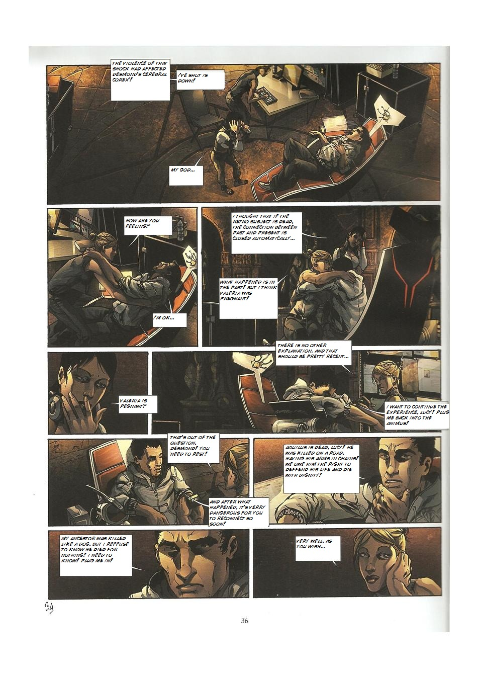 Read online Assassin's Creed (2009) comic -  Issue #3 - 36