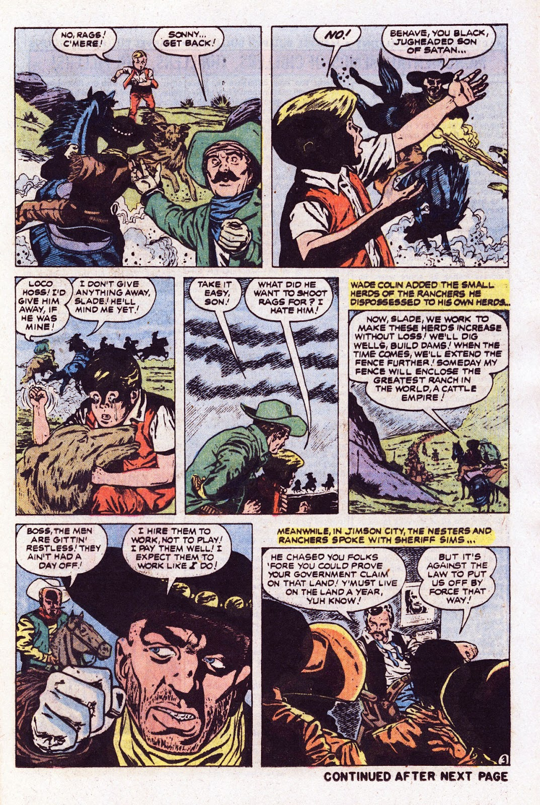 The Outlaw Kid (1970) issue 22 - Page 21