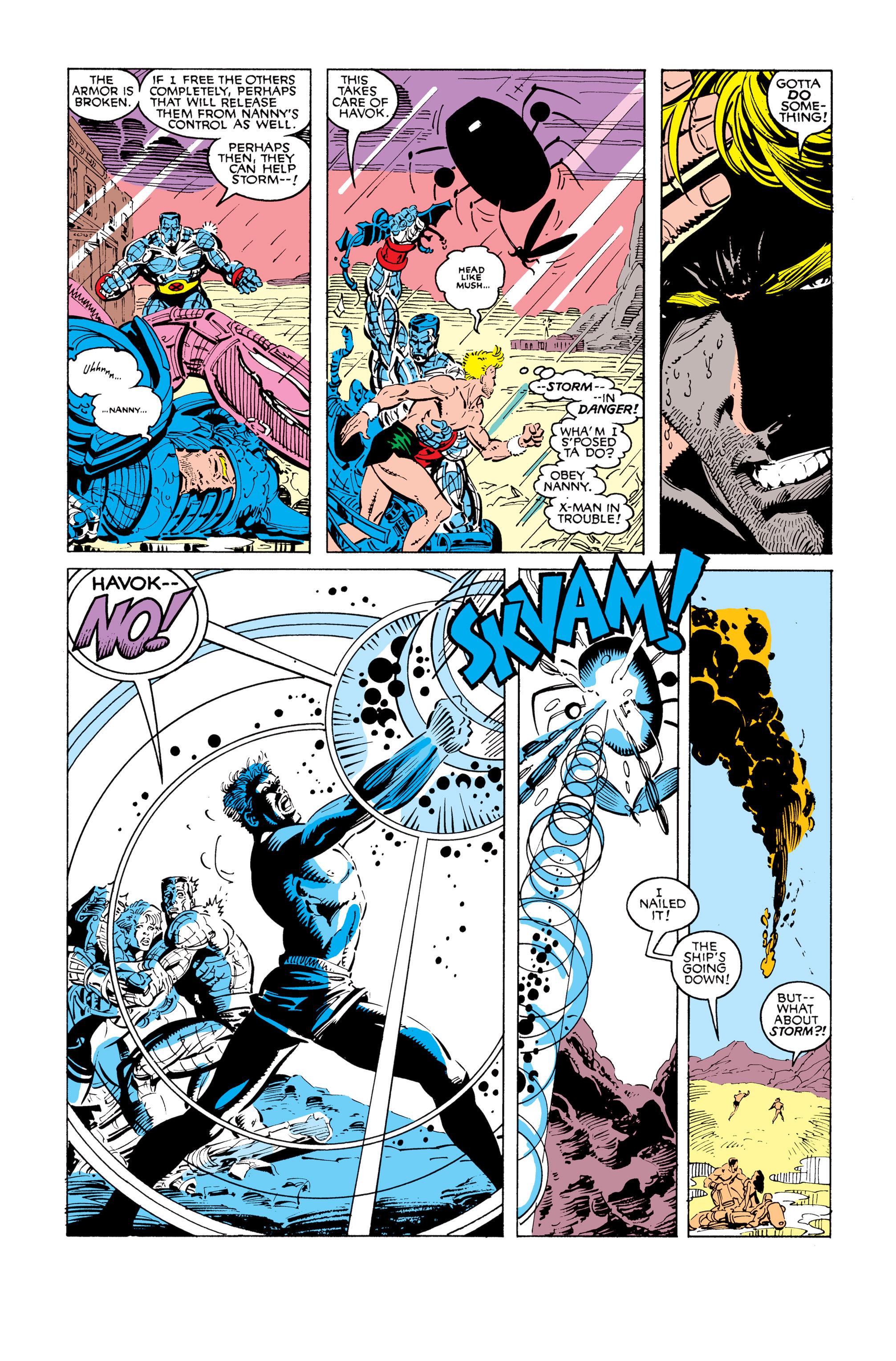 Read online Uncanny X-Men (1963) comic -  Issue #248 - 22