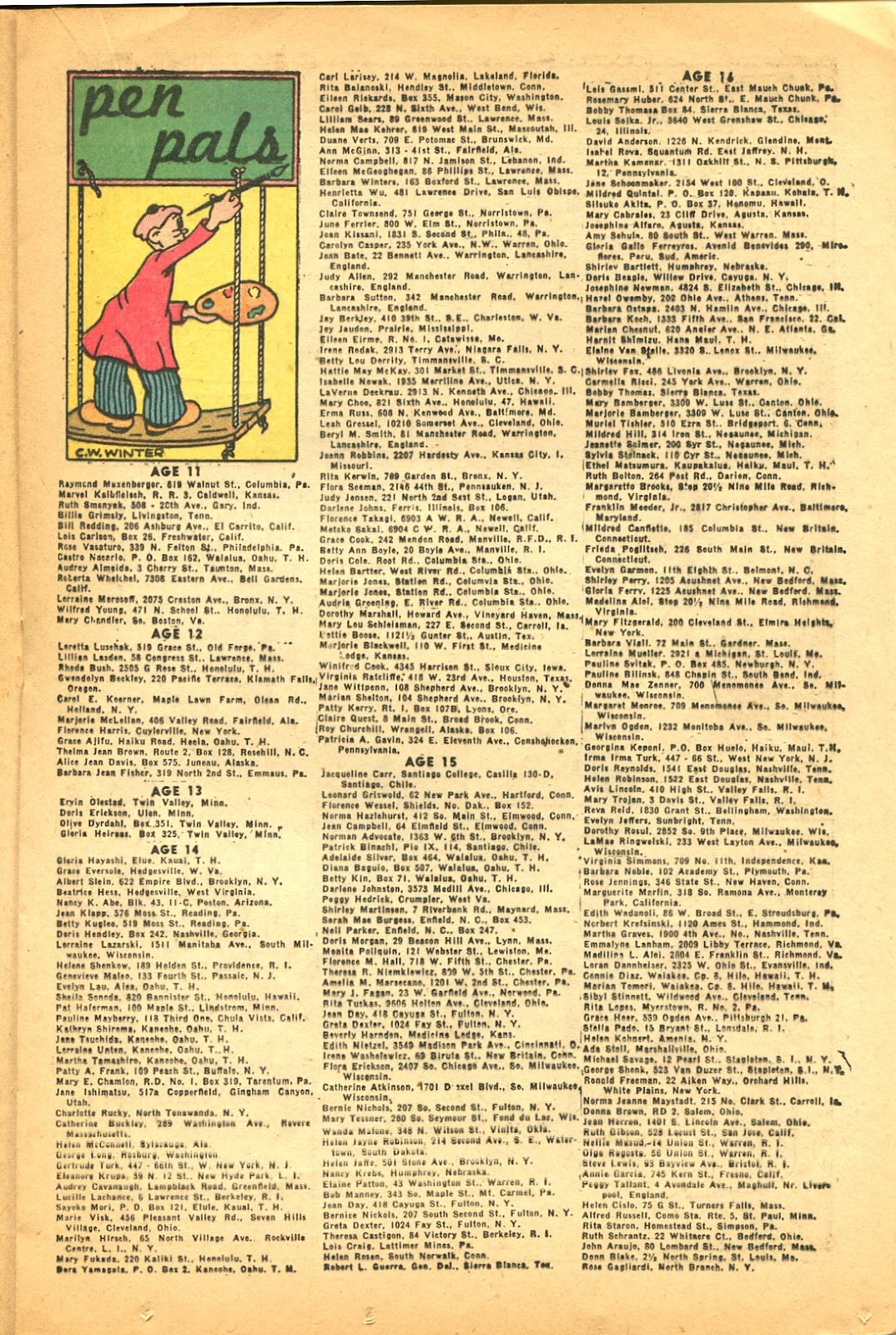 Read online Famous Funnies comic -  Issue #119 - 25