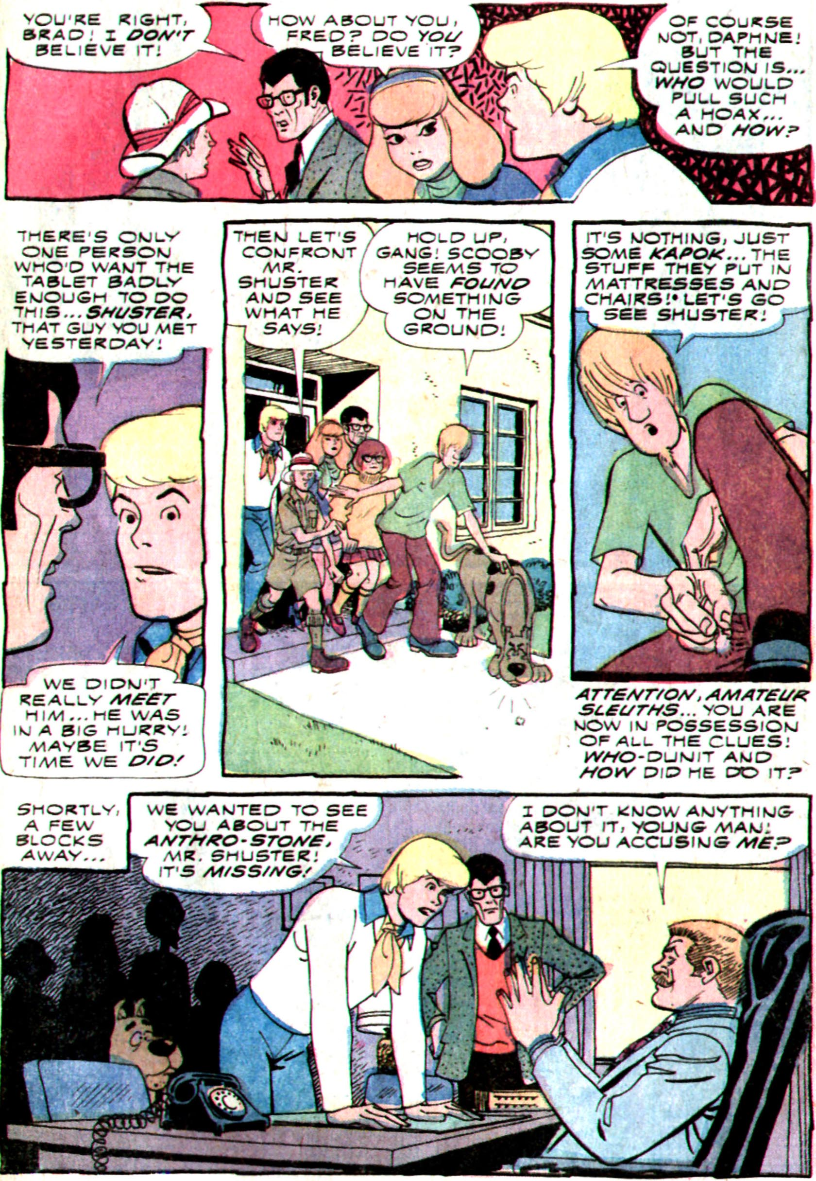 Read online Scooby-Doo... Mystery Comics comic -  Issue #24 - 29