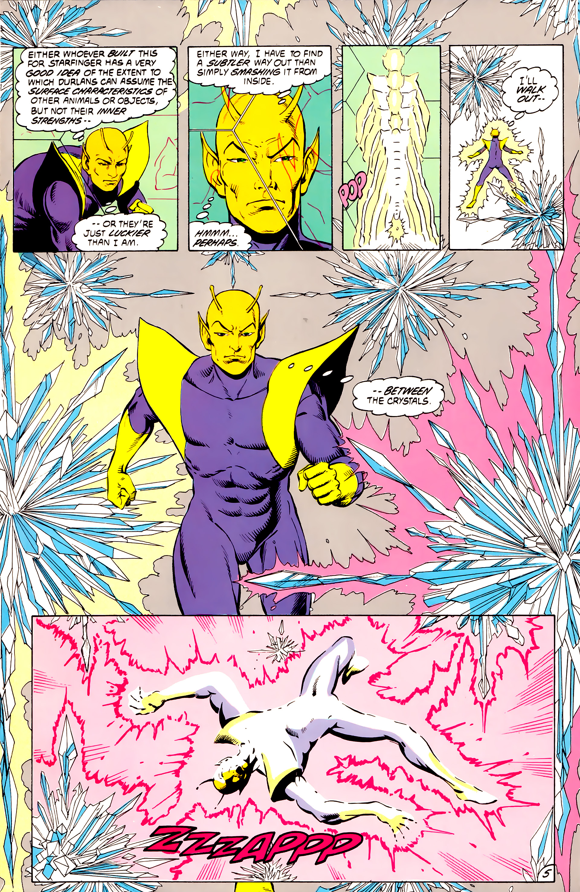 Legion of Super-Heroes (1984) _Annual_4 Page 5
