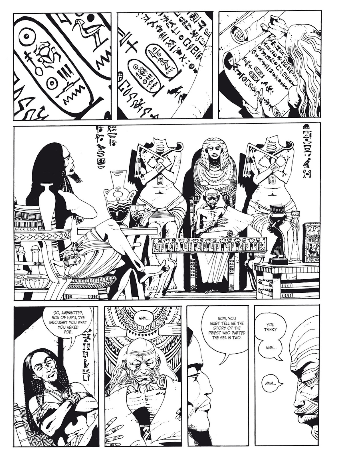 Read online The Egyptian Princesses comic -  Issue # TPB 1 (Part 1) - 58