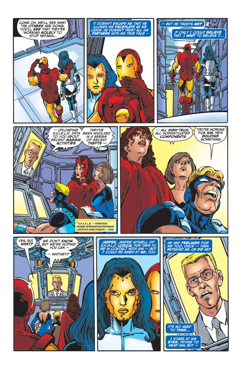 Read online Avengers (1998) comic -  Issue #33 - 20