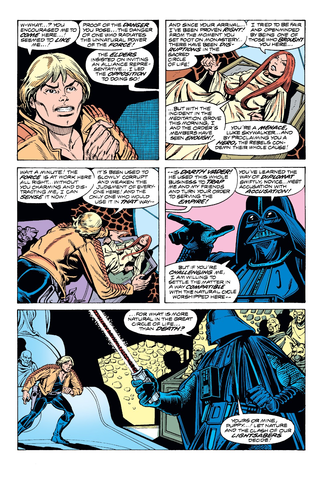 Read online Star Wars Legends: The Original Marvel Years - Epic Collection comic -  Issue # TPB 2 (Part 3) - 69