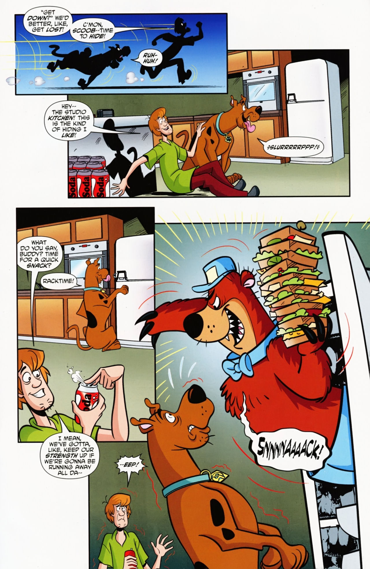 Read online Scooby-Doo: Where Are You? comic -  Issue #9 - 12