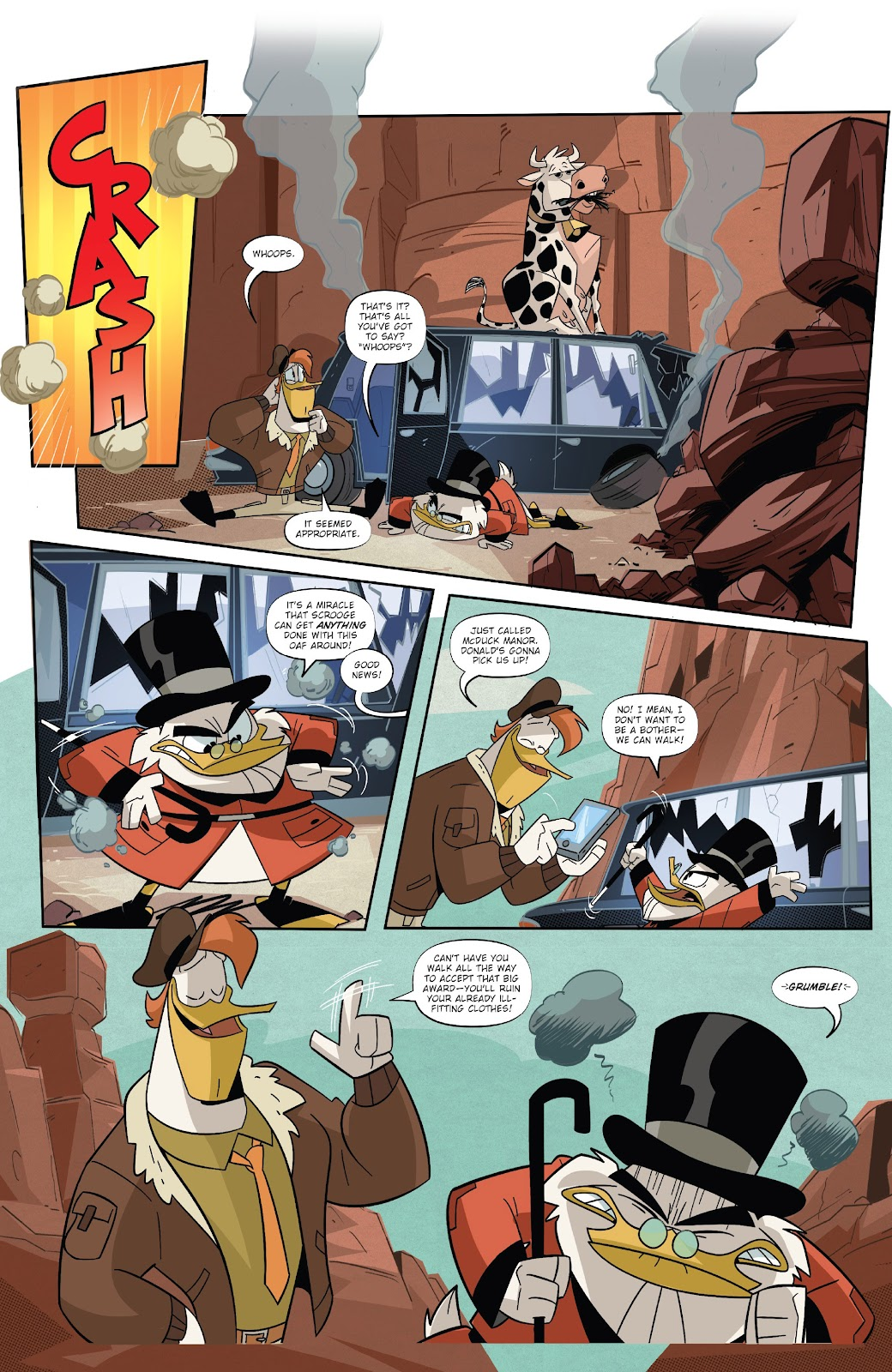 Read online Ducktales (2017) comic -  Issue #19 - 10