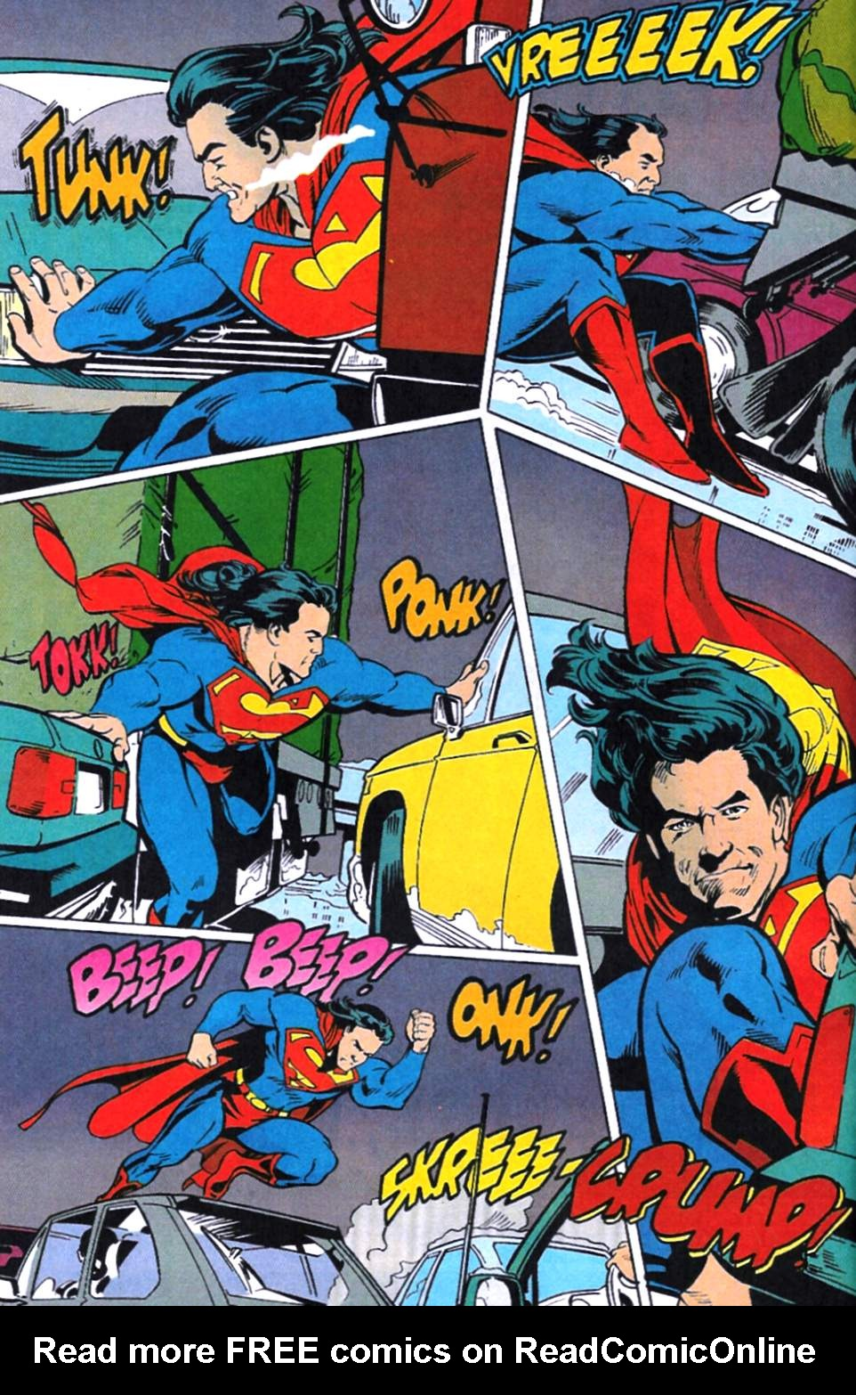 Read online Adventures of Superman (1987) comic -  Issue #521 - 3