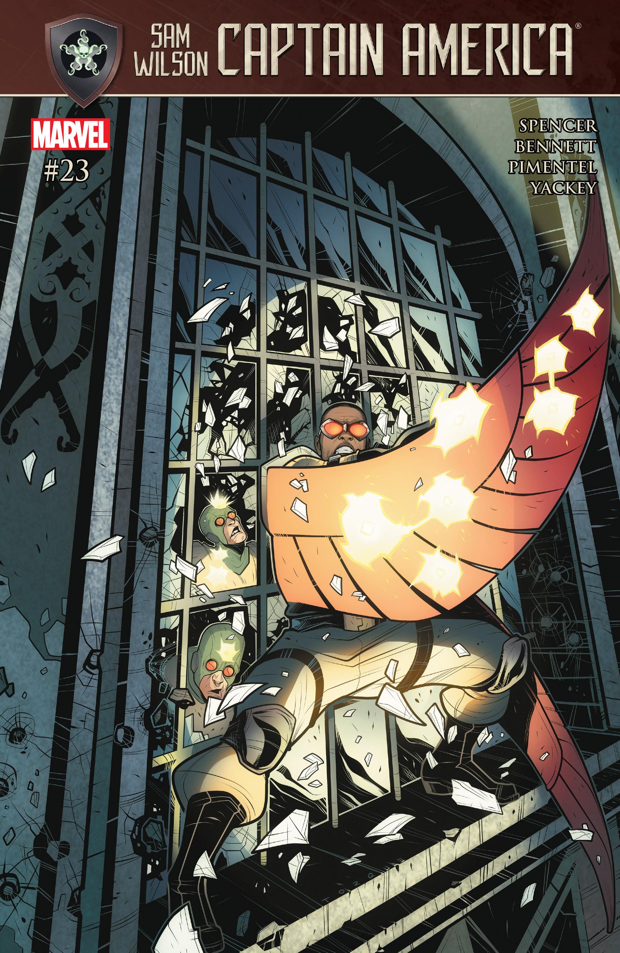 Read online Captain America: Sam Wilson comic -  Issue #23 - 1