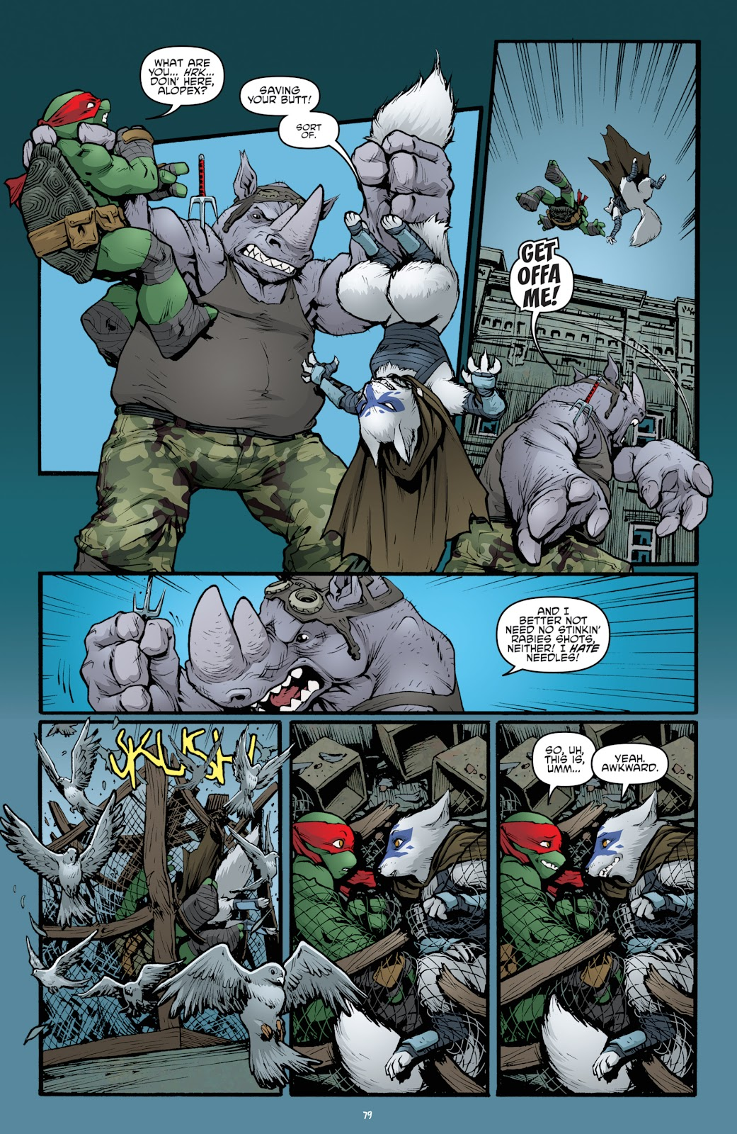 Read online Teenage Mutant Ninja Turtles: The IDW Collection comic -  Issue # TPB 5 (Part 2) - 57