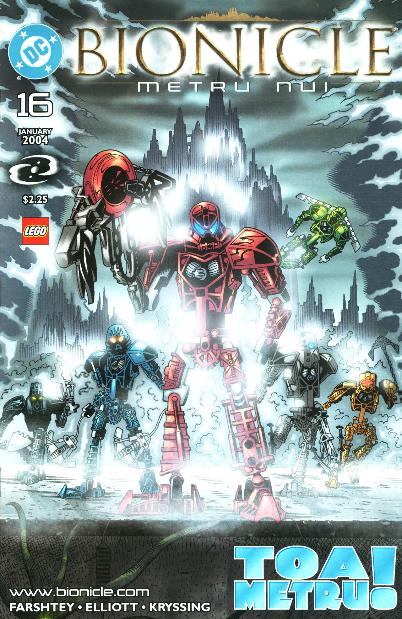 Bionicle 16 Page 1