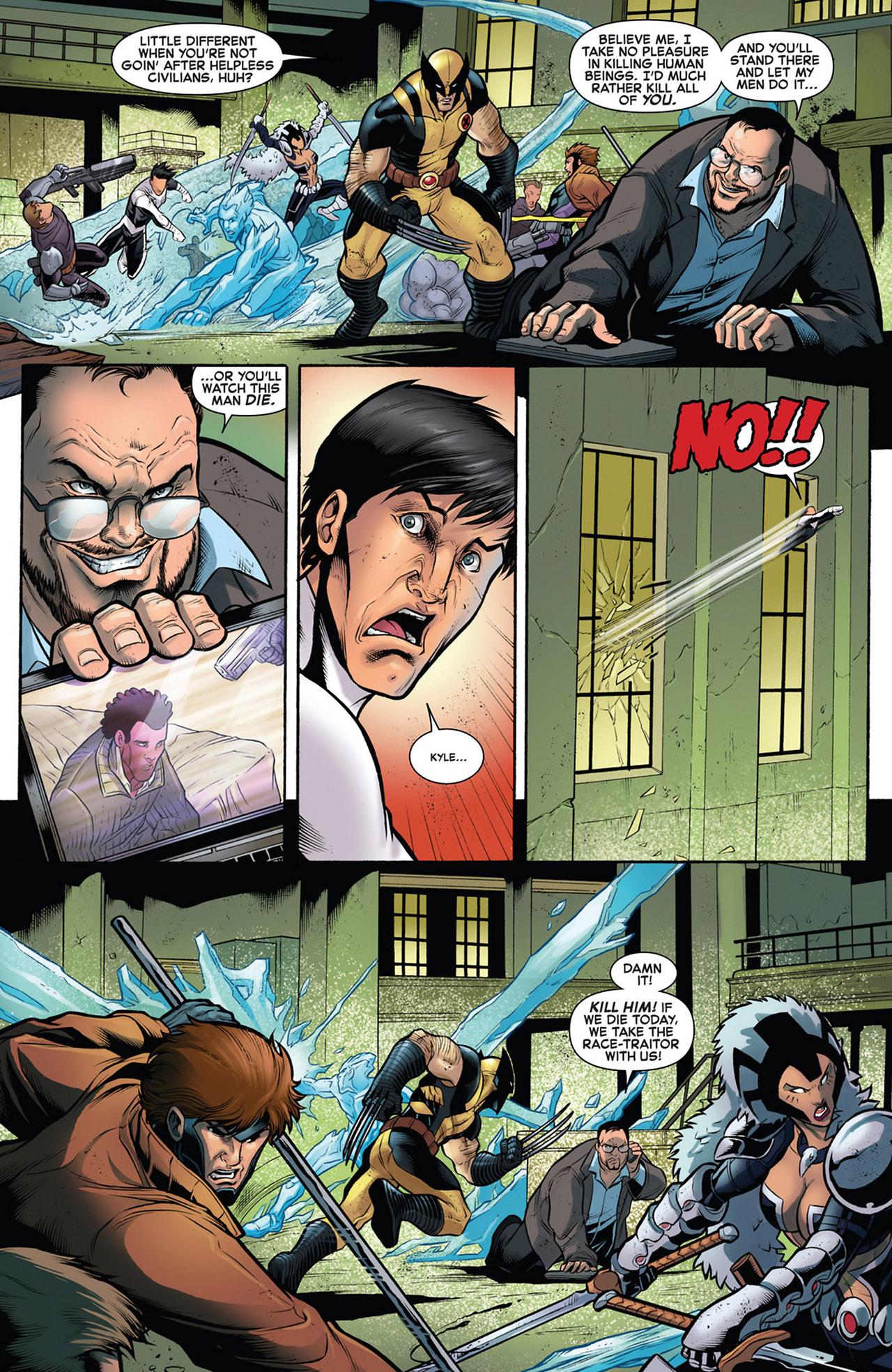Read online Astonishing X-Men (2004) comic -  Issue # _Annual 1 - 10