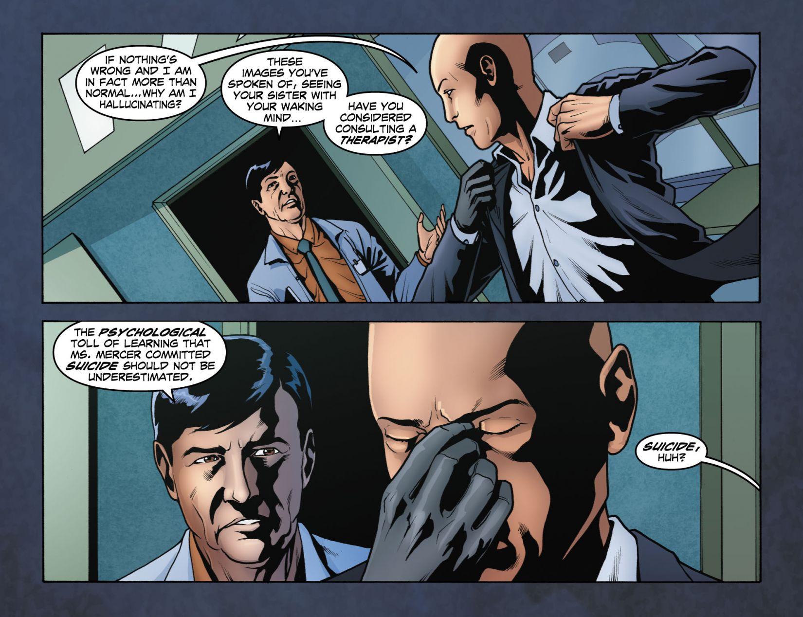 Read online Smallville: Season 11 comic -  Issue #4 - 5