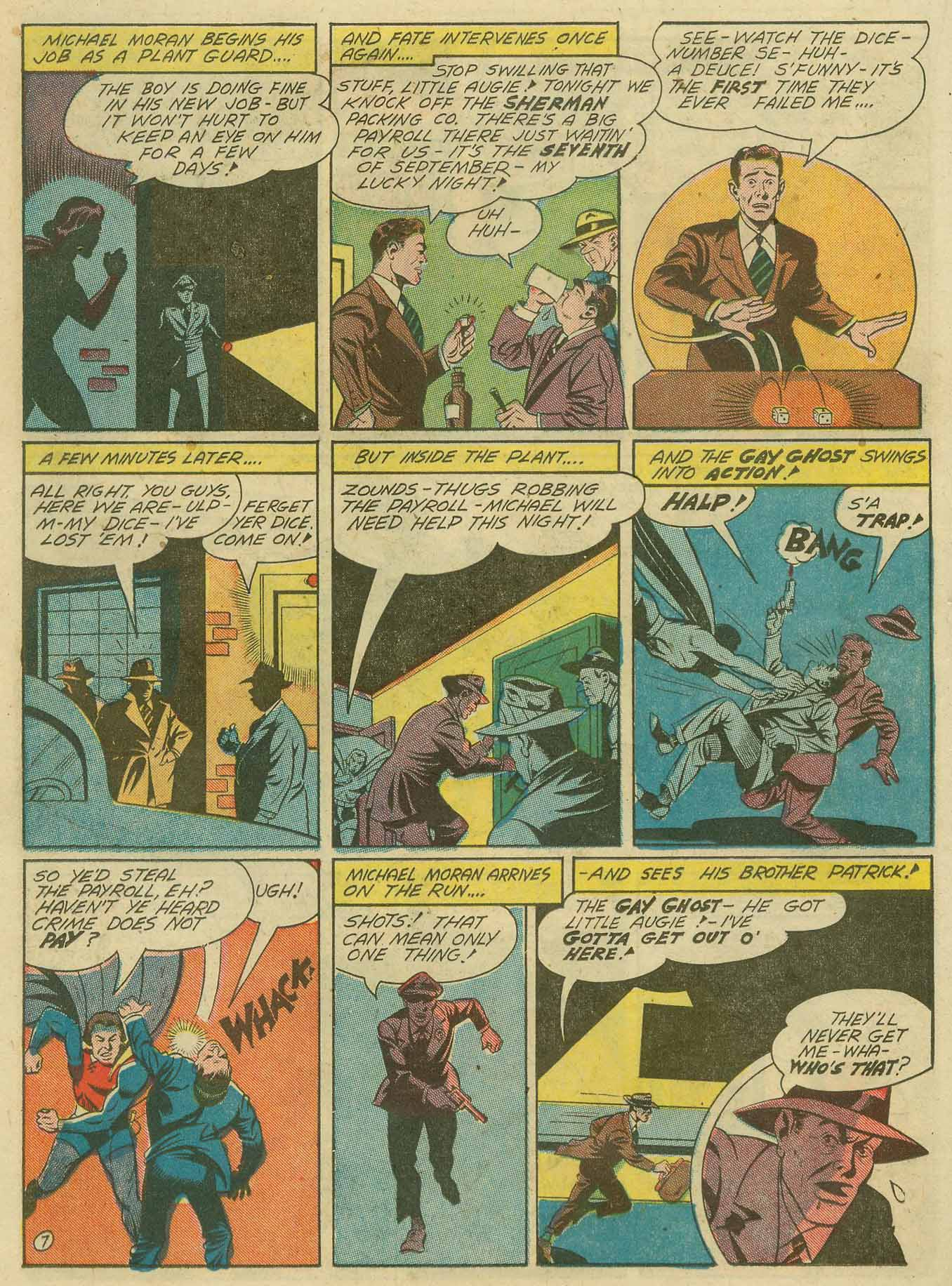 Read online Sensation (Mystery) Comics comic -  Issue #28 - 39