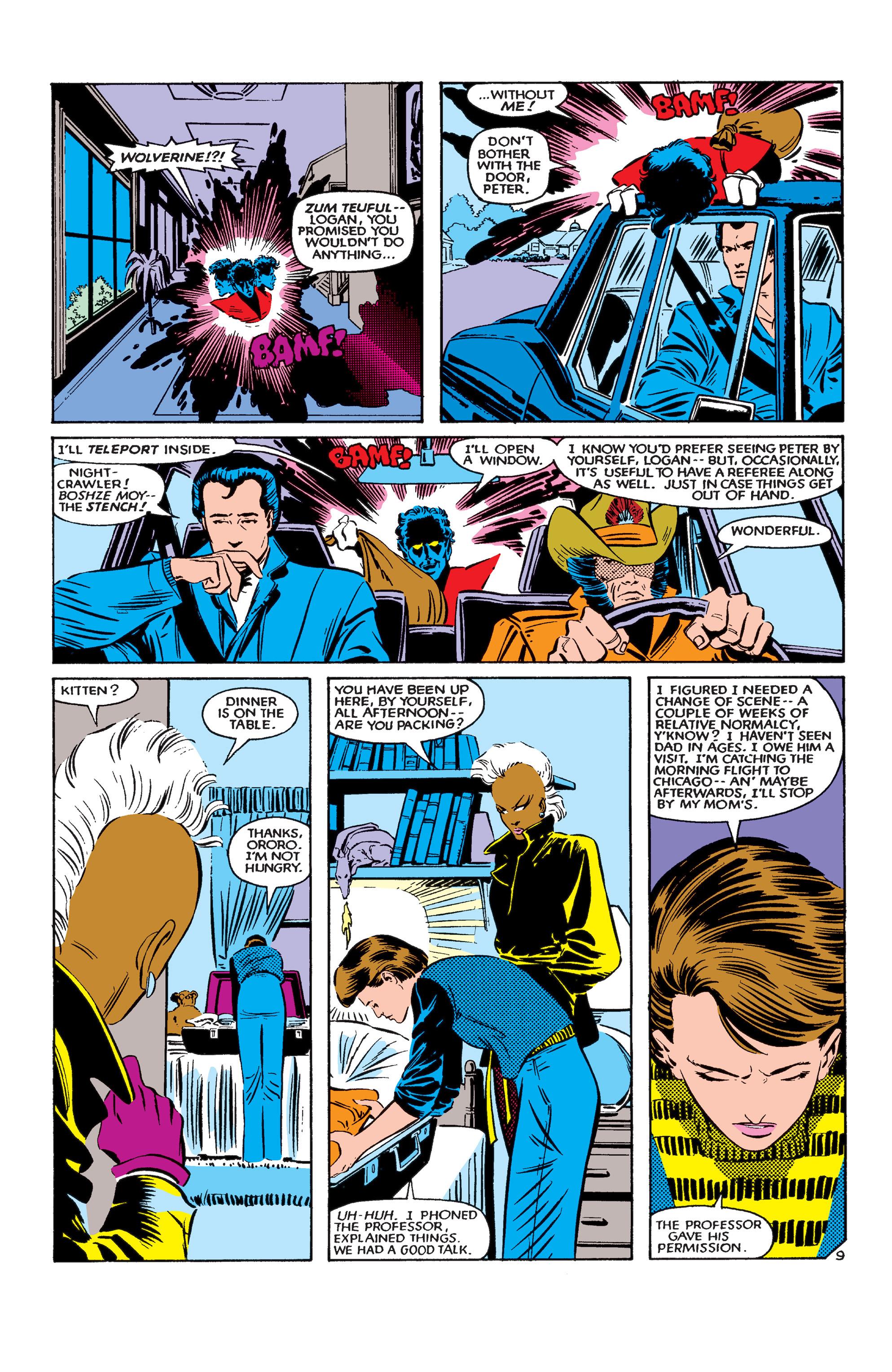Read online Uncanny X-Men (1963) comic -  Issue #183 - 10