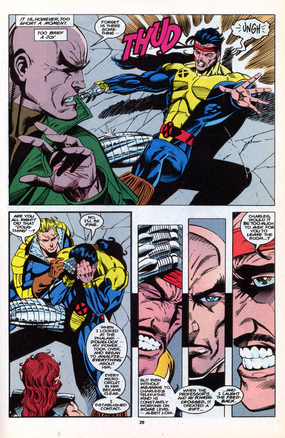 Read online X-Factor (1986) comic -  Issue #106 - 30