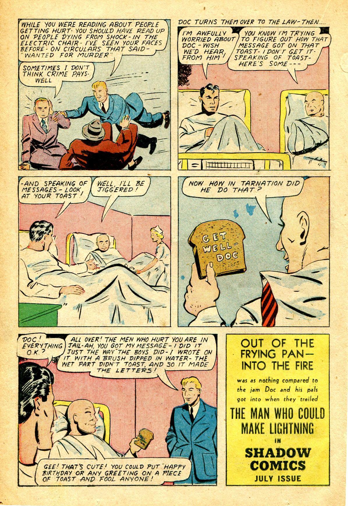 Read online Shadow Comics comic -  Issue #51 - 25