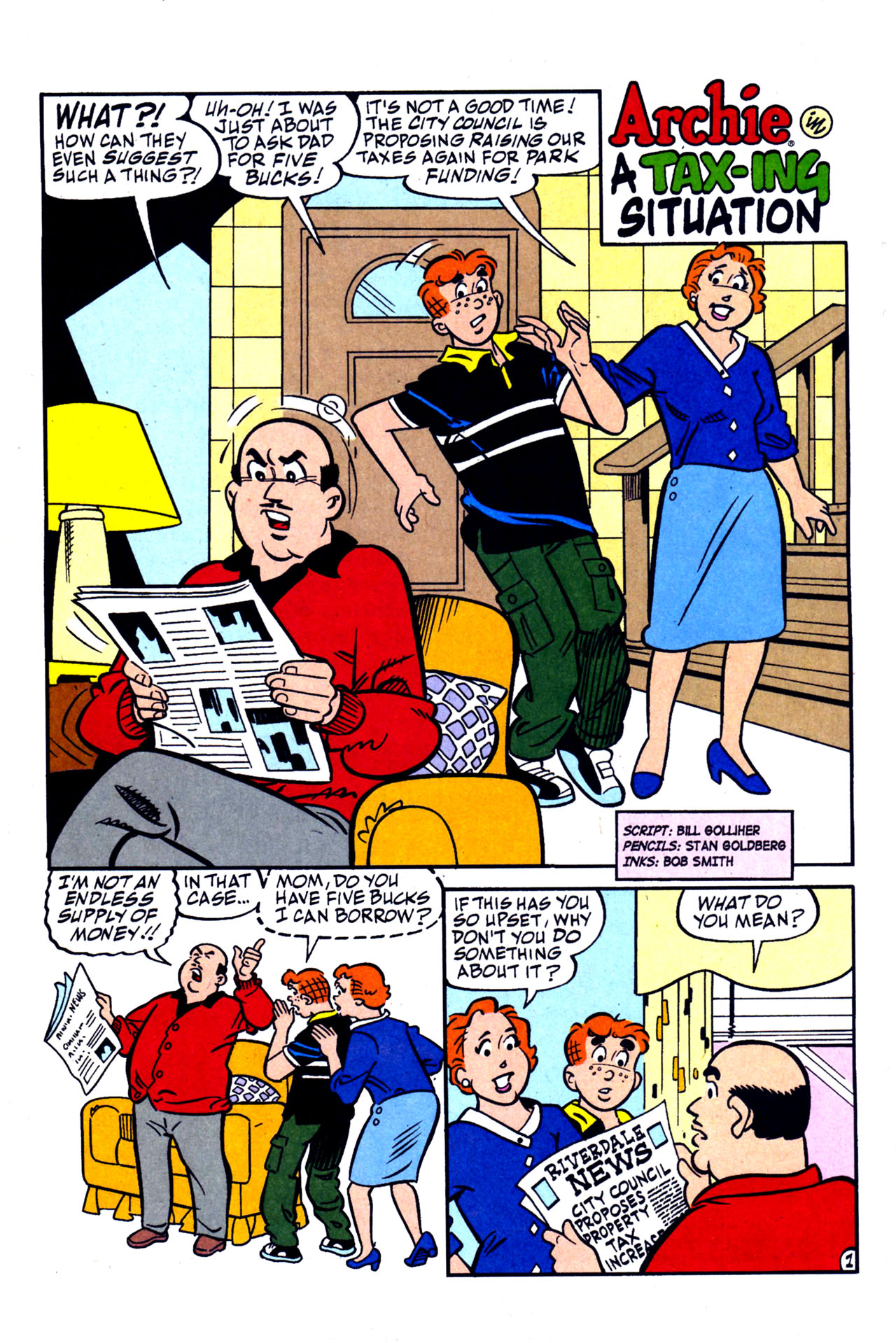 Read online Archie (1960) comic -  Issue #578 - 8