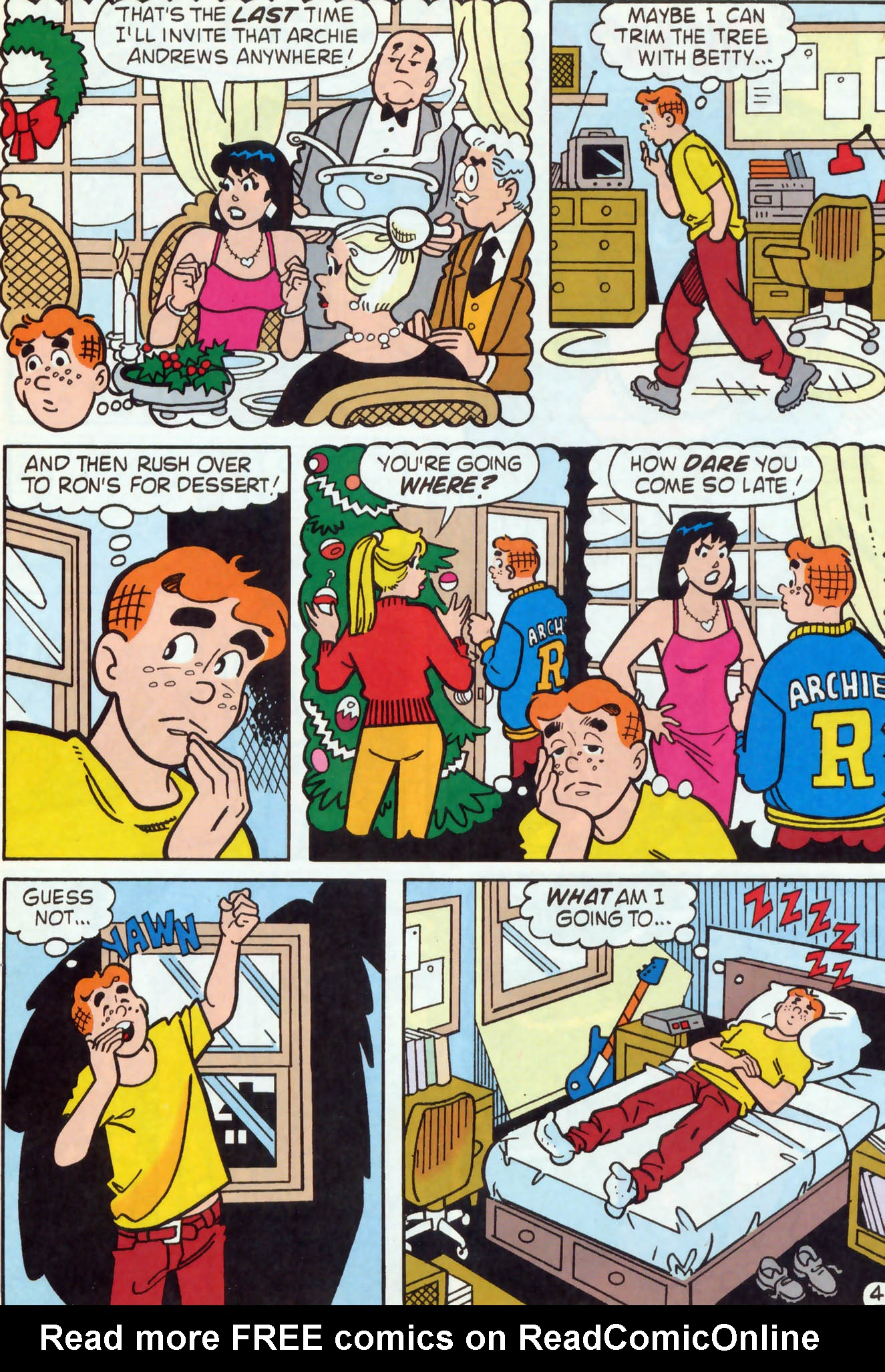 Read online Archie (1960) comic -  Issue #456 - 5