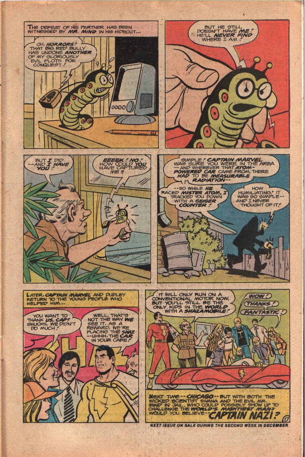 Read online Shazam! (1973) comic -  Issue #33 - 31