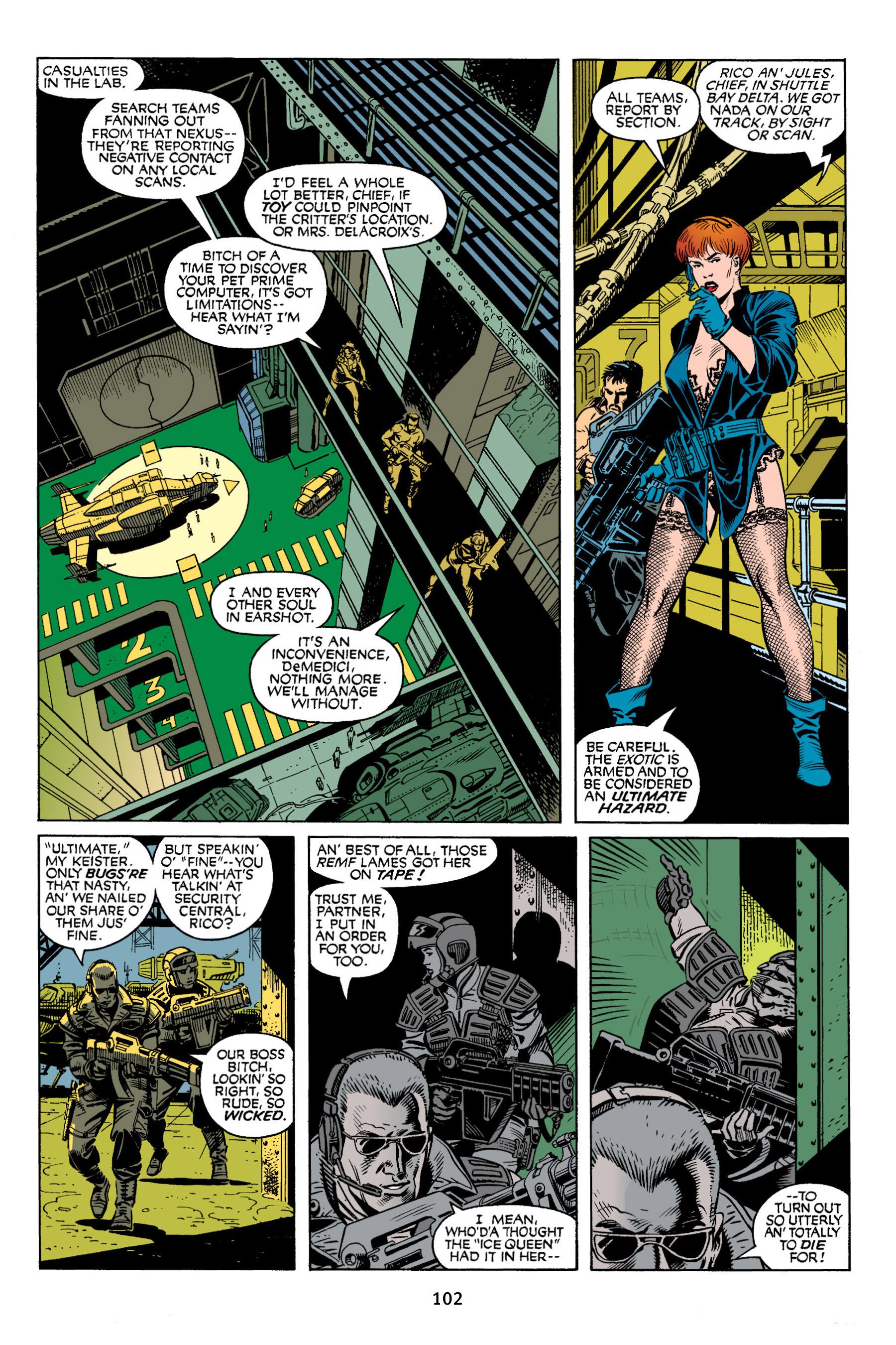 Read online Aliens vs. Predator Omnibus comic -  Issue # _TPB 2 Part 1 - 101