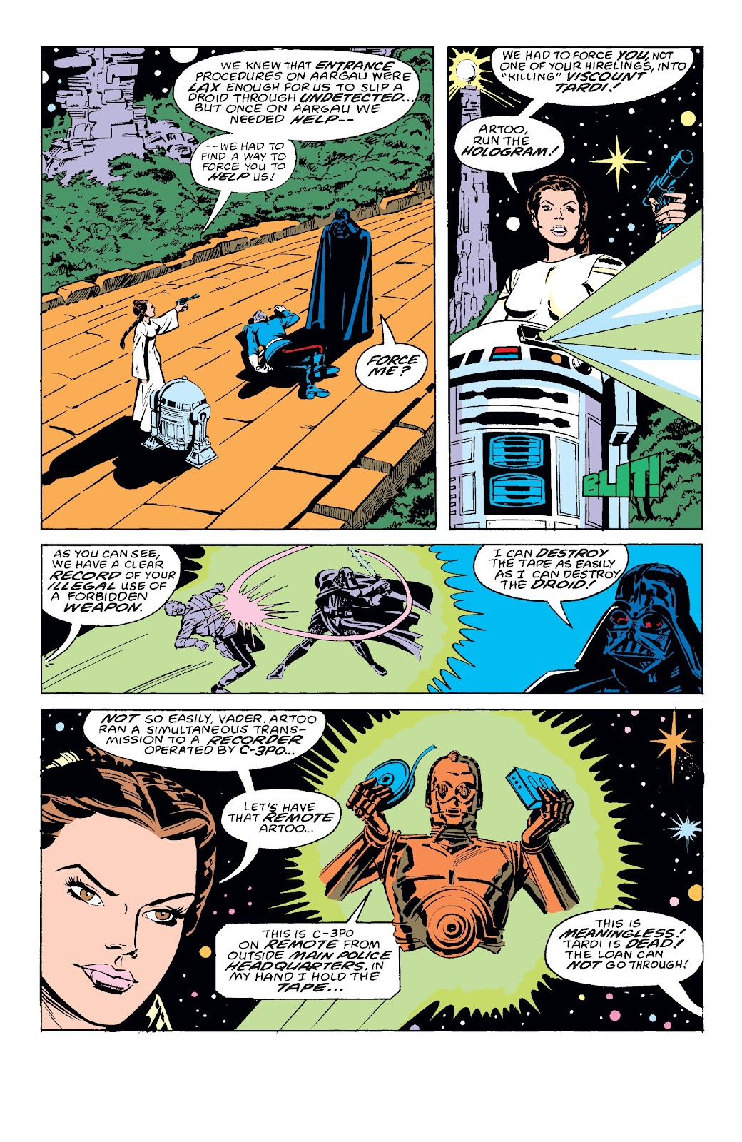 Read online Star Wars Legends: The Original Marvel Years - Epic Collection comic -  Issue # TPB 3 (Part 3) - 2