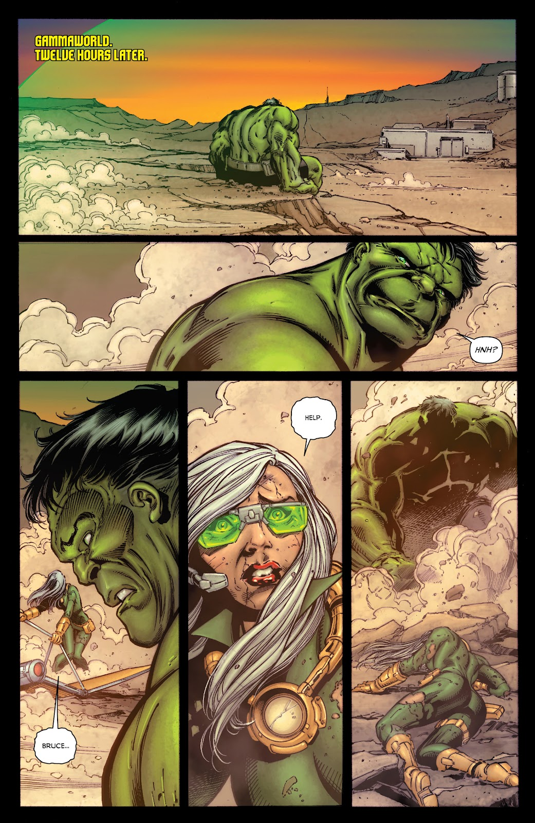 Read online Incredible Hulks (2010) comic -  Issue # _TPB Heart of the Monster - 18