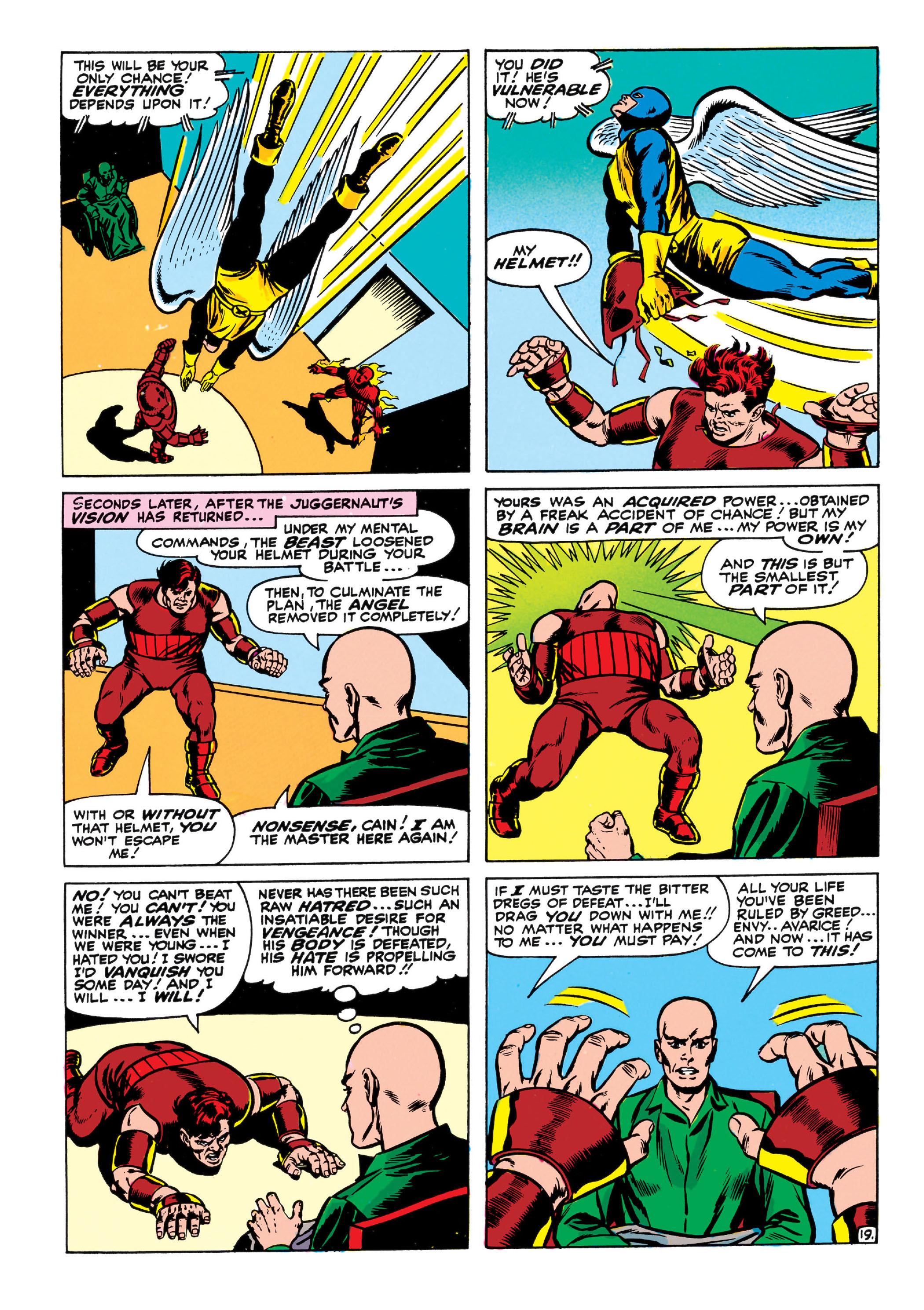 Read online Uncanny X-Men (1963) comic -  Issue #13 - 20
