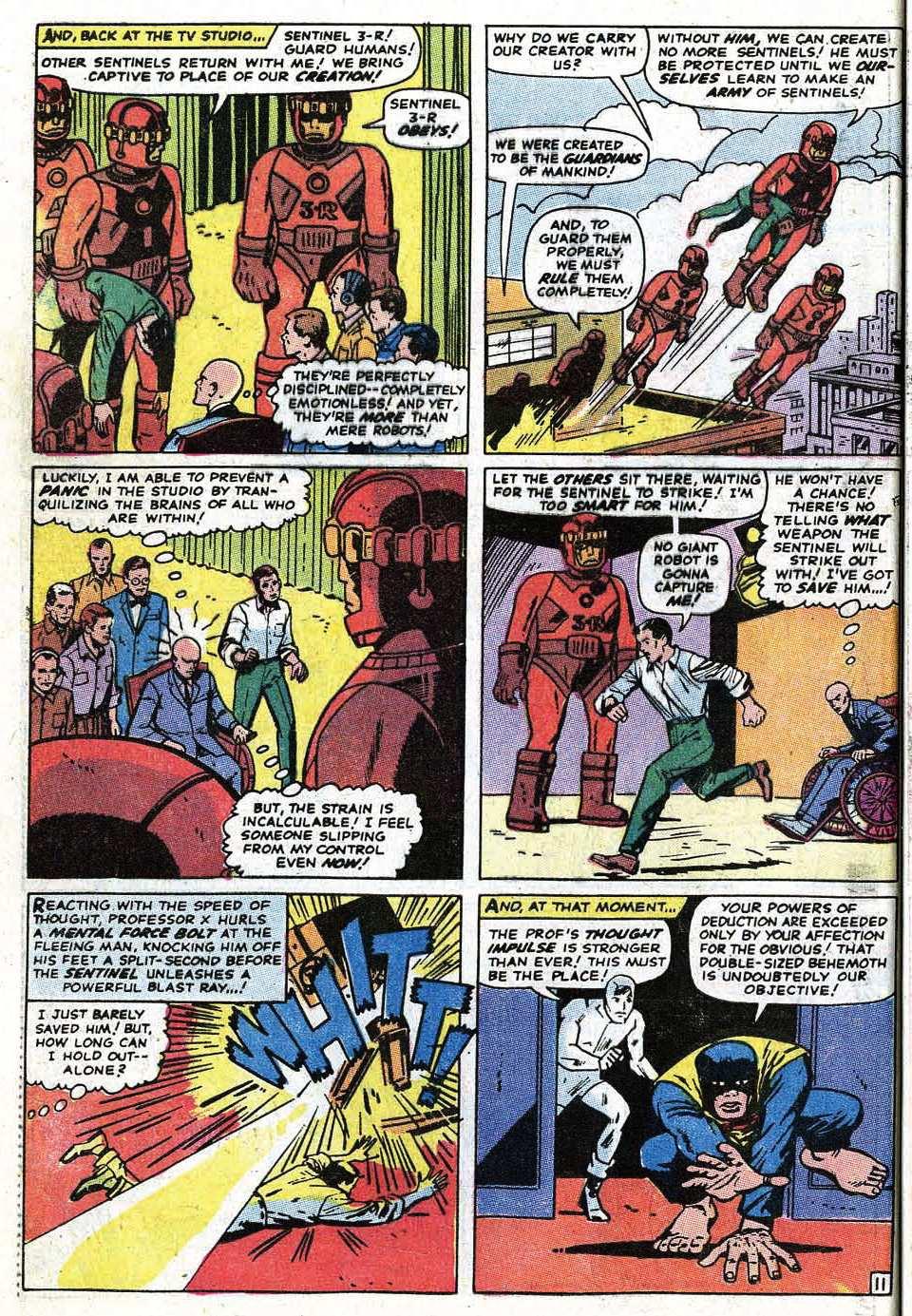 Uncanny X-Men (1963) 68 Page 13