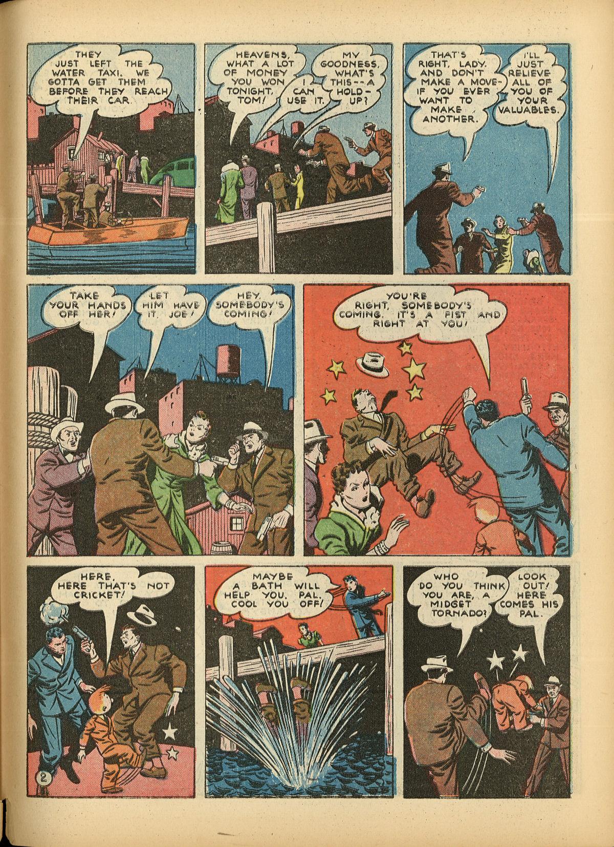 Read online Detective Comics (1937) comic -  Issue #55 - 59