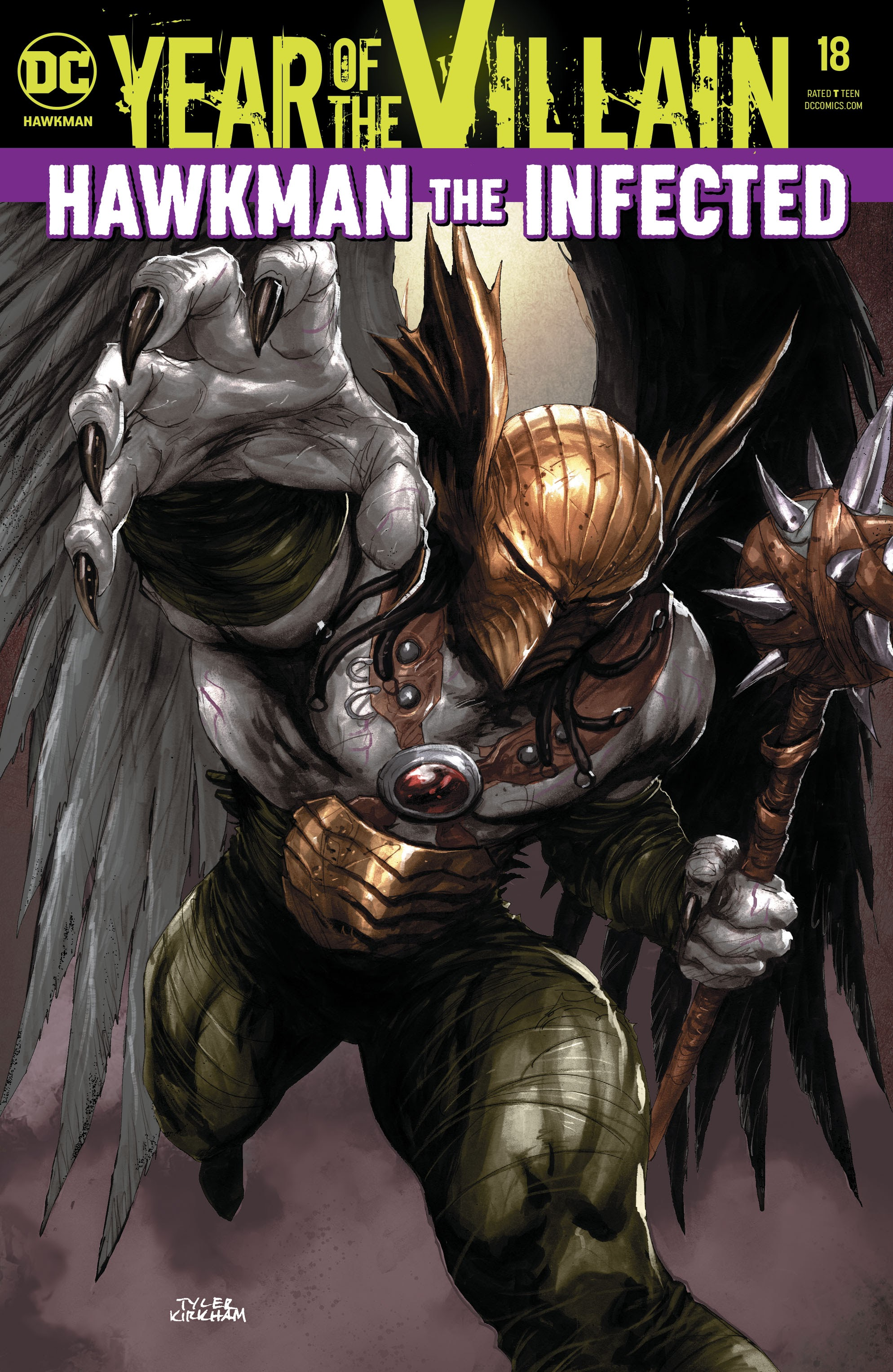 Hawkman (2018) 18 Page 1