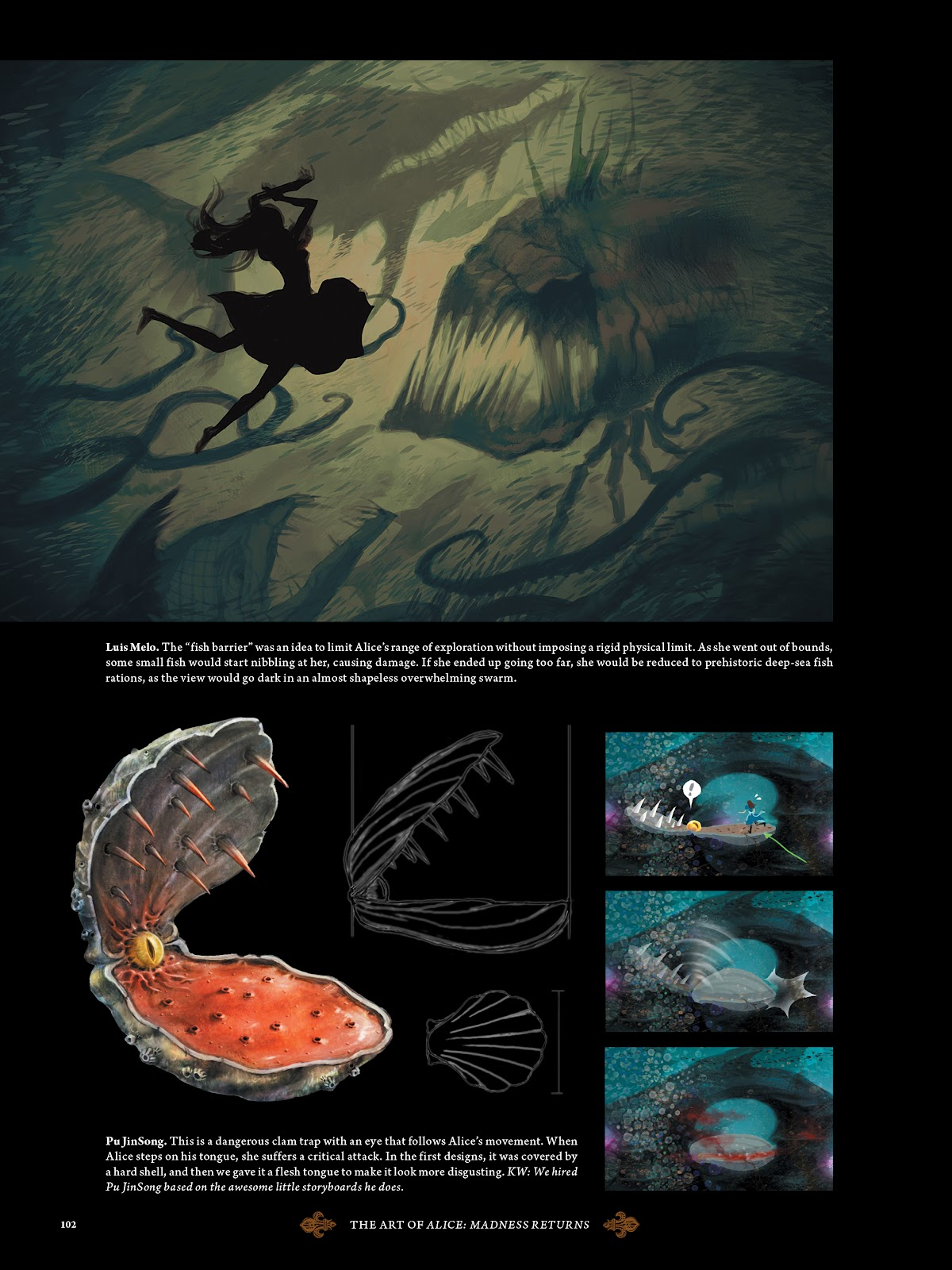 Read online The Art of Alice: Madness Returns comic -  Issue # TPB (Part 2) - 3