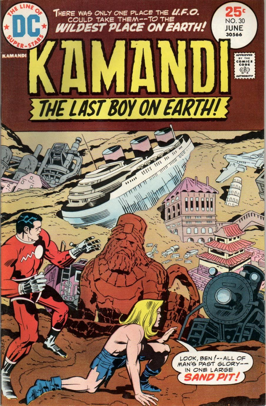 Kamandi, The Last Boy On Earth issue 30 - Page 1